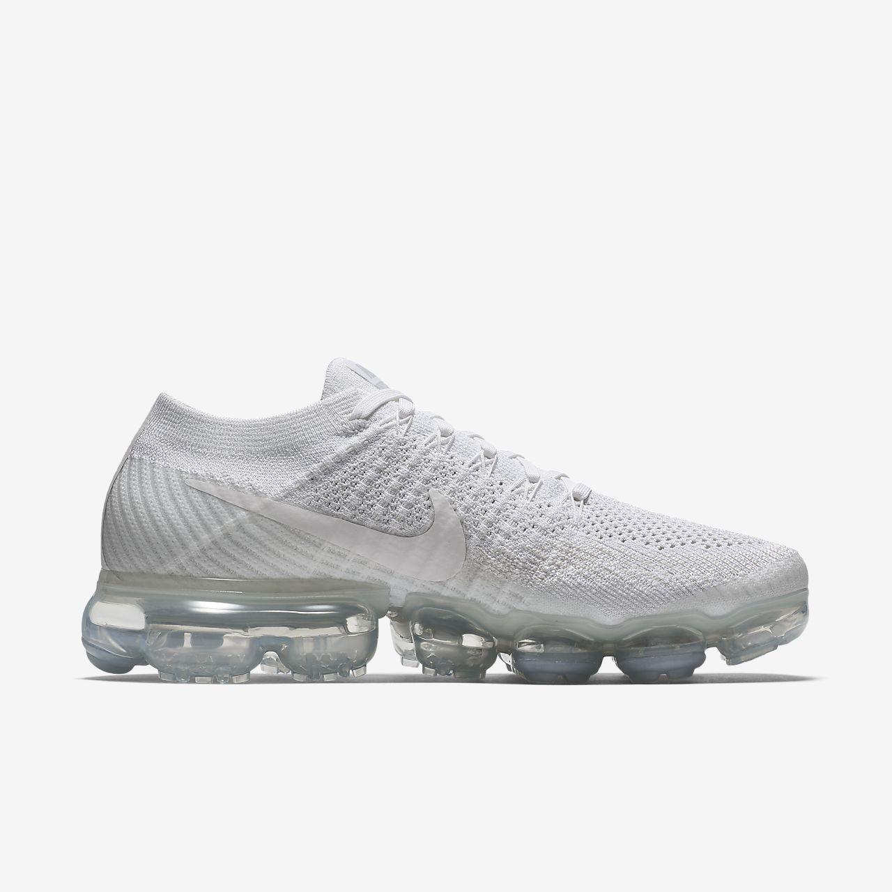 Nike Vapormax Aire Flyknit Para Mujer Zapato Corriente Icono Blanco 2015 en línea mLpAPodA2H
