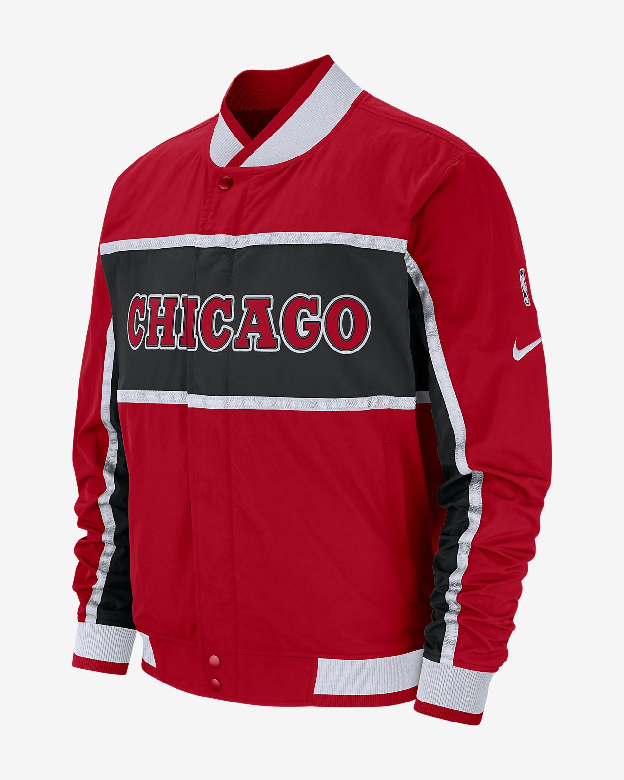 Chicago Bulls Nike Courtside NBA-s férfikabát