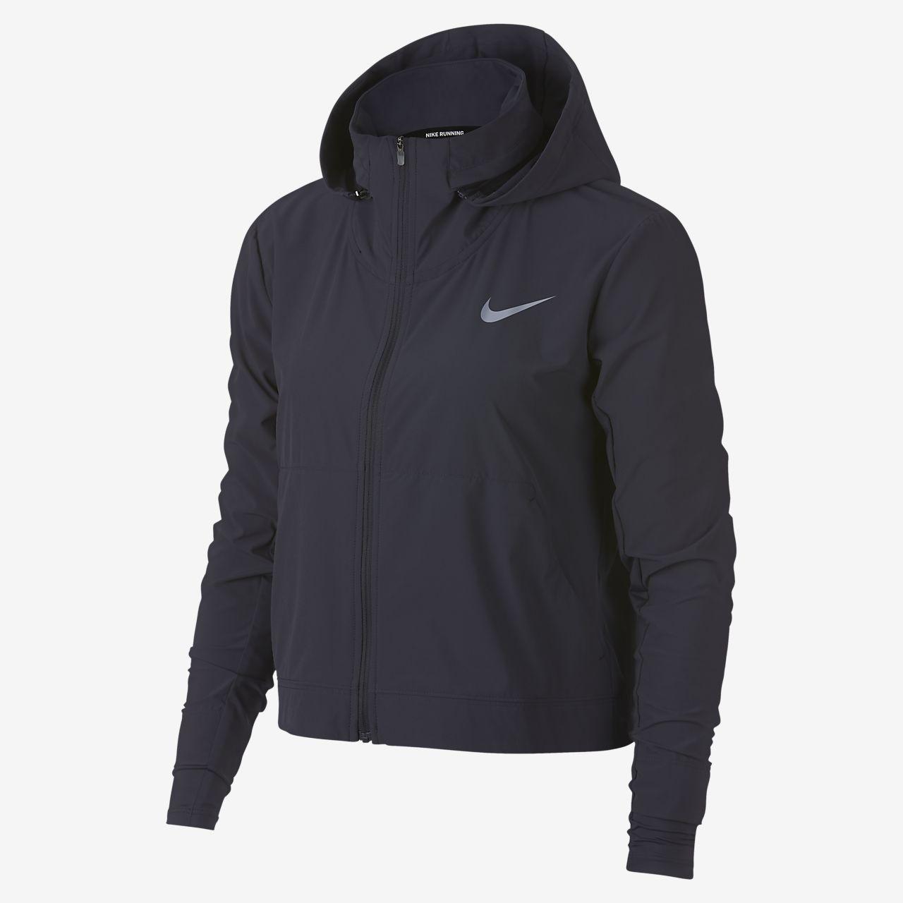 huge discount 86180 7b7ca Nike Swift-løbejakke til kvinder
