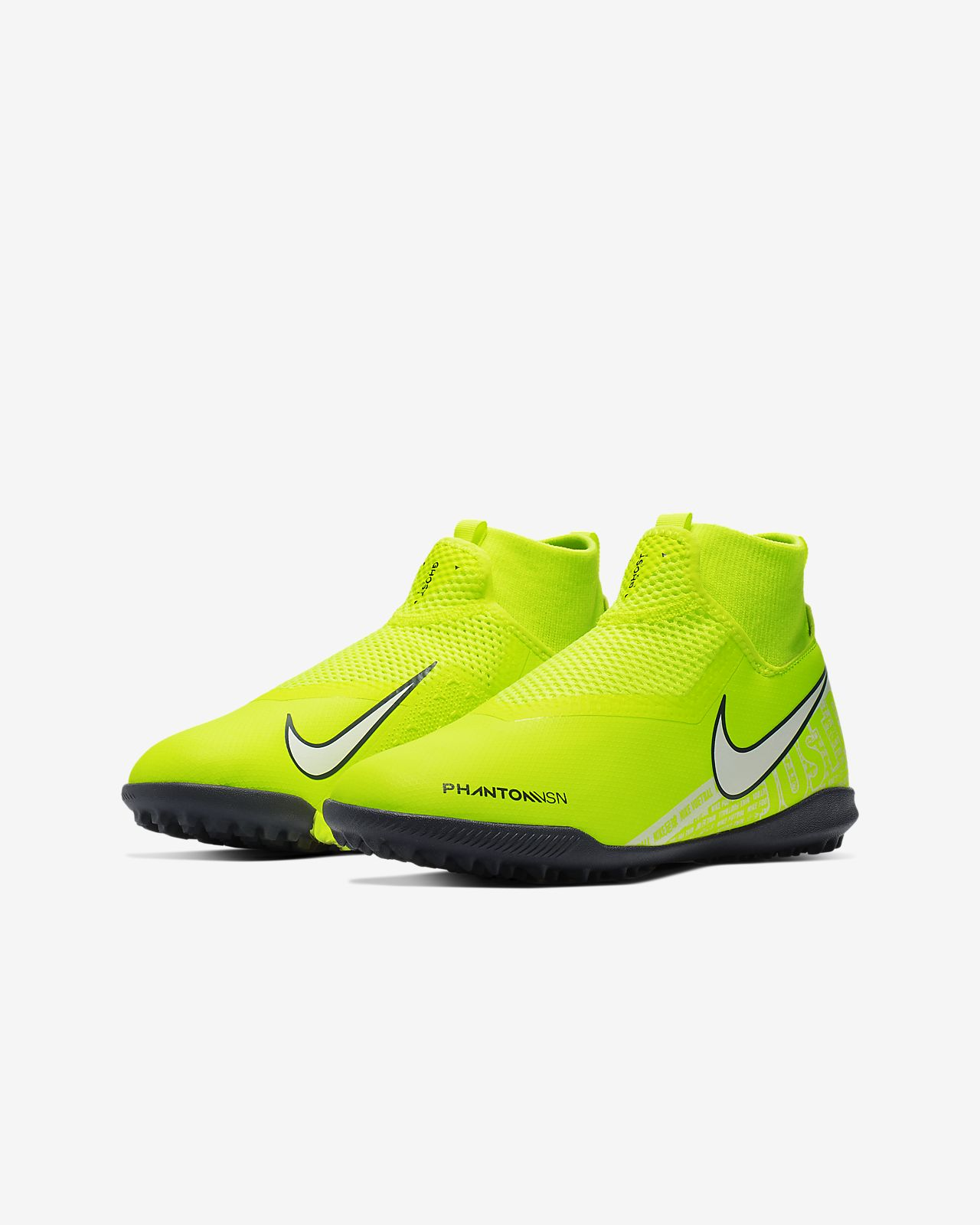 Scarpa da calcio per erba sintetica Nike Jr. Phantom Vision Academy Dynamic Fit BambiniRagazzi