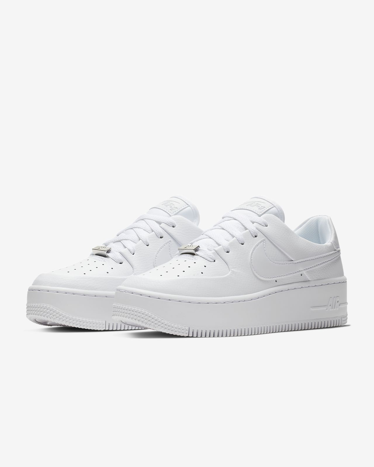 Shoptagr | Nike Grey Ice Air Force 1 Sage Sneakers by Nike