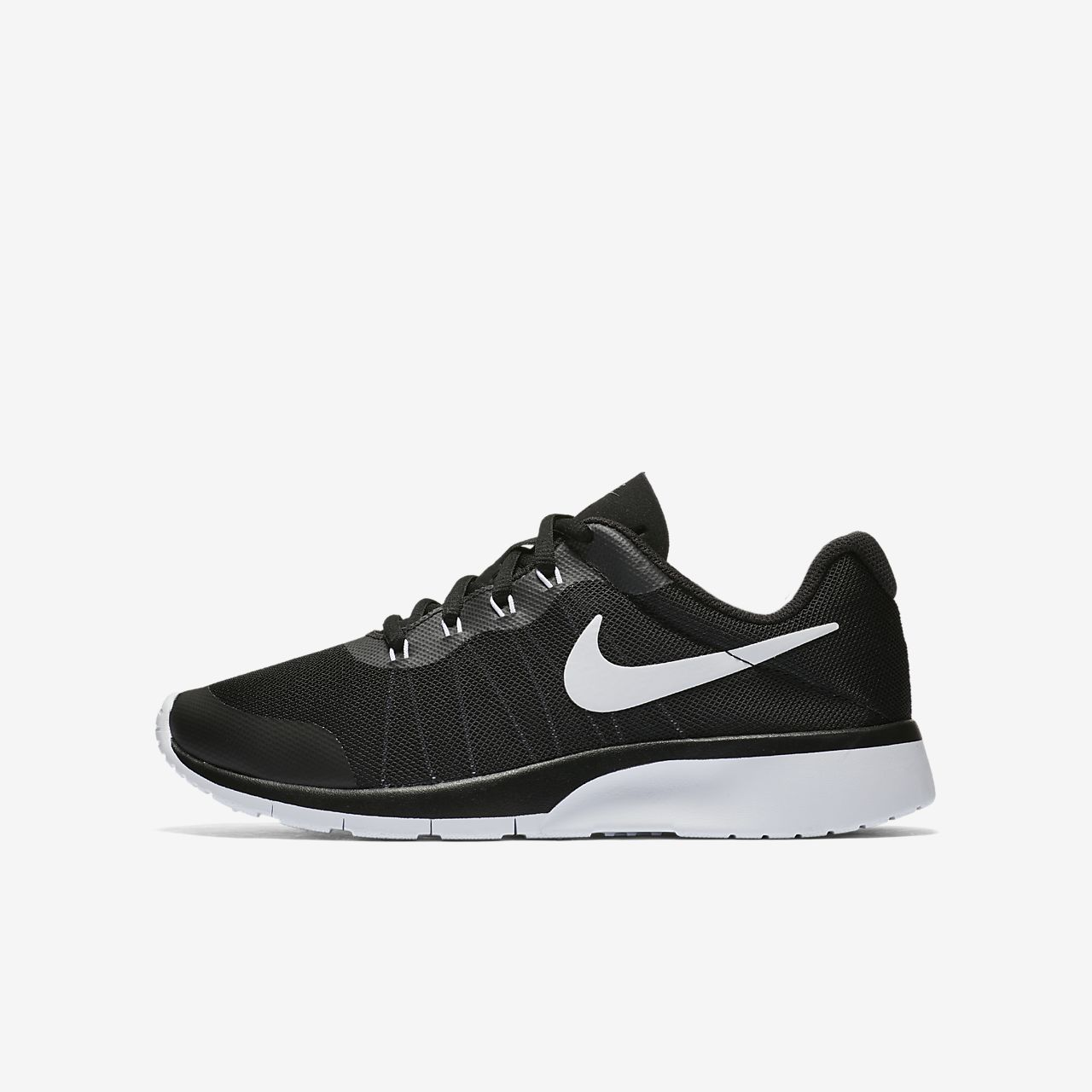 Nike Tanjun Racer Girls Running Shoes White bL3408O