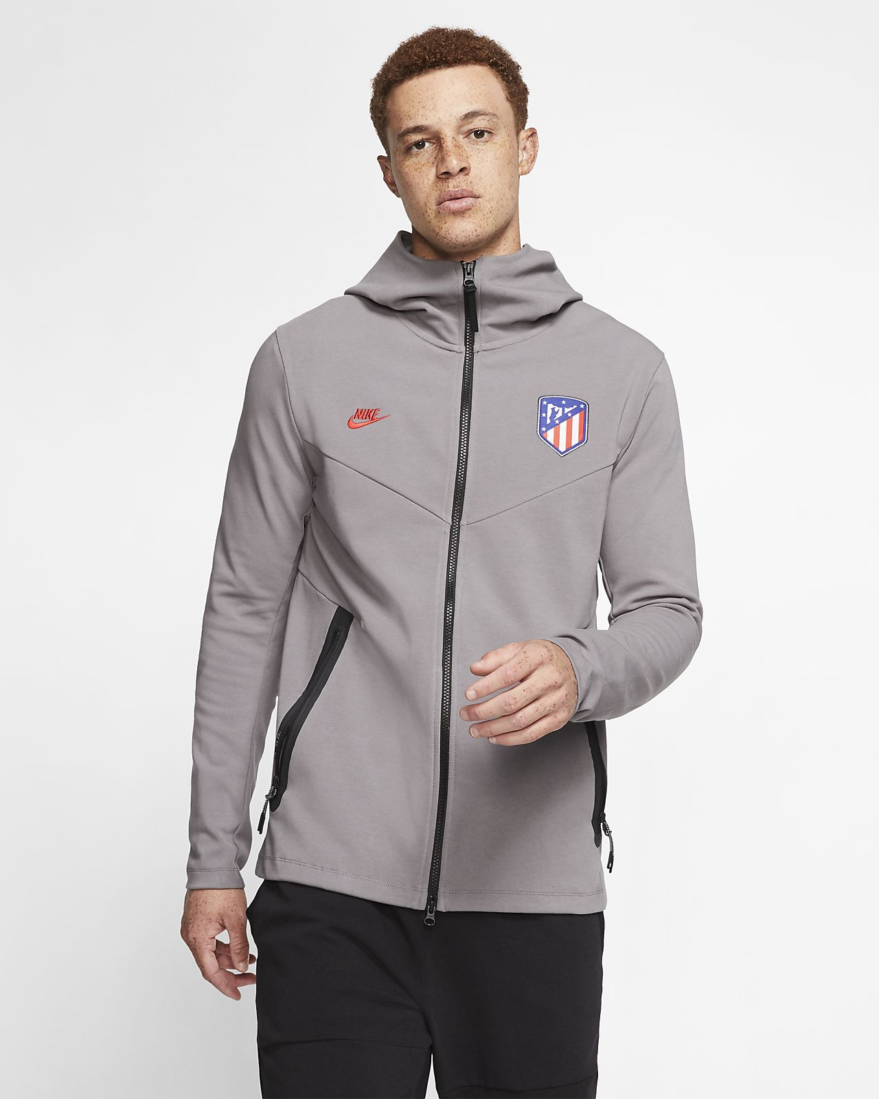Atlético de Madrid Tech Pack Men's Full-Zip Hoodie
