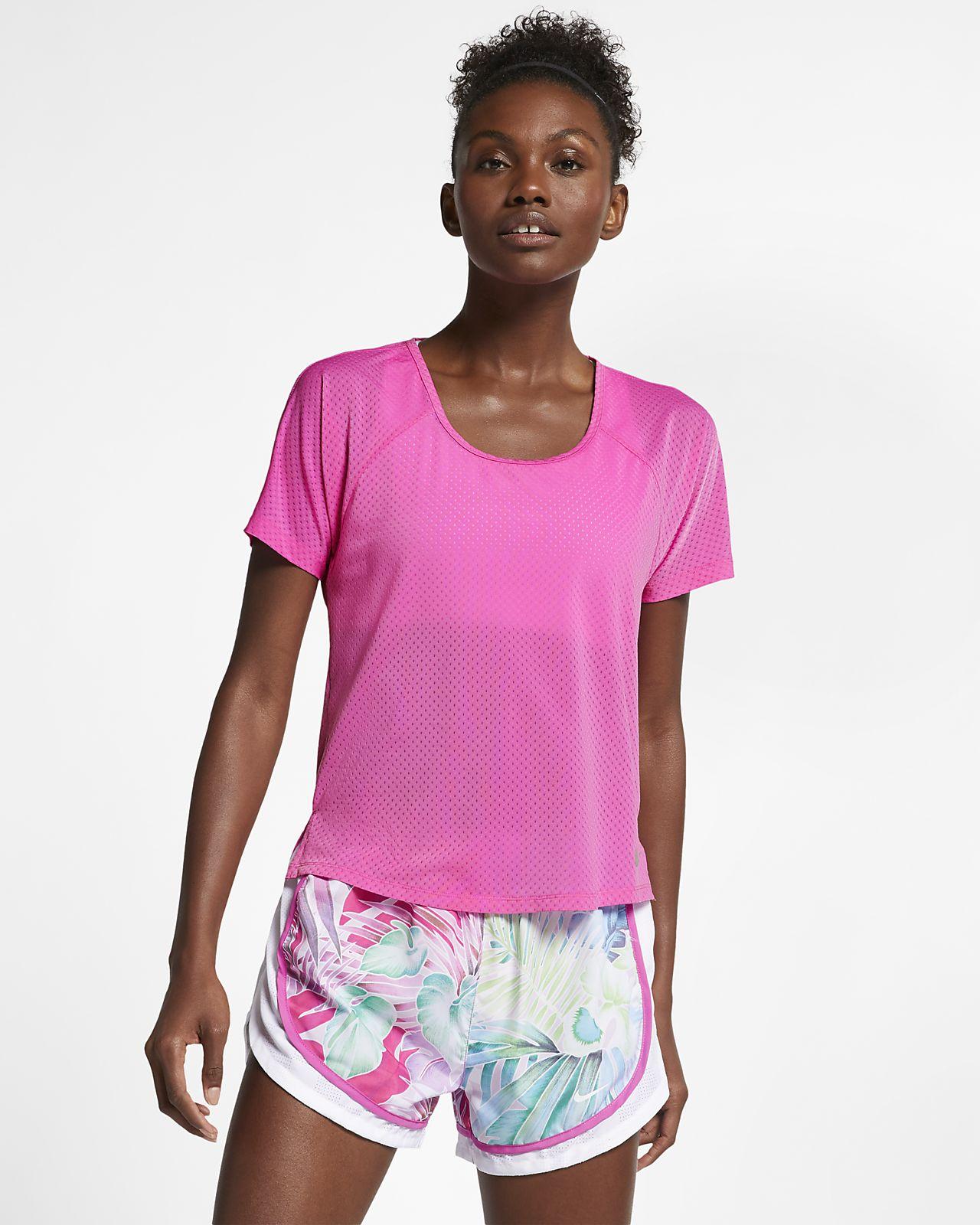 3d6e9f9a7b10 Γυναικεία μπλούζα για τρέξιμο Nike Breathe Miler. Nike.com GR