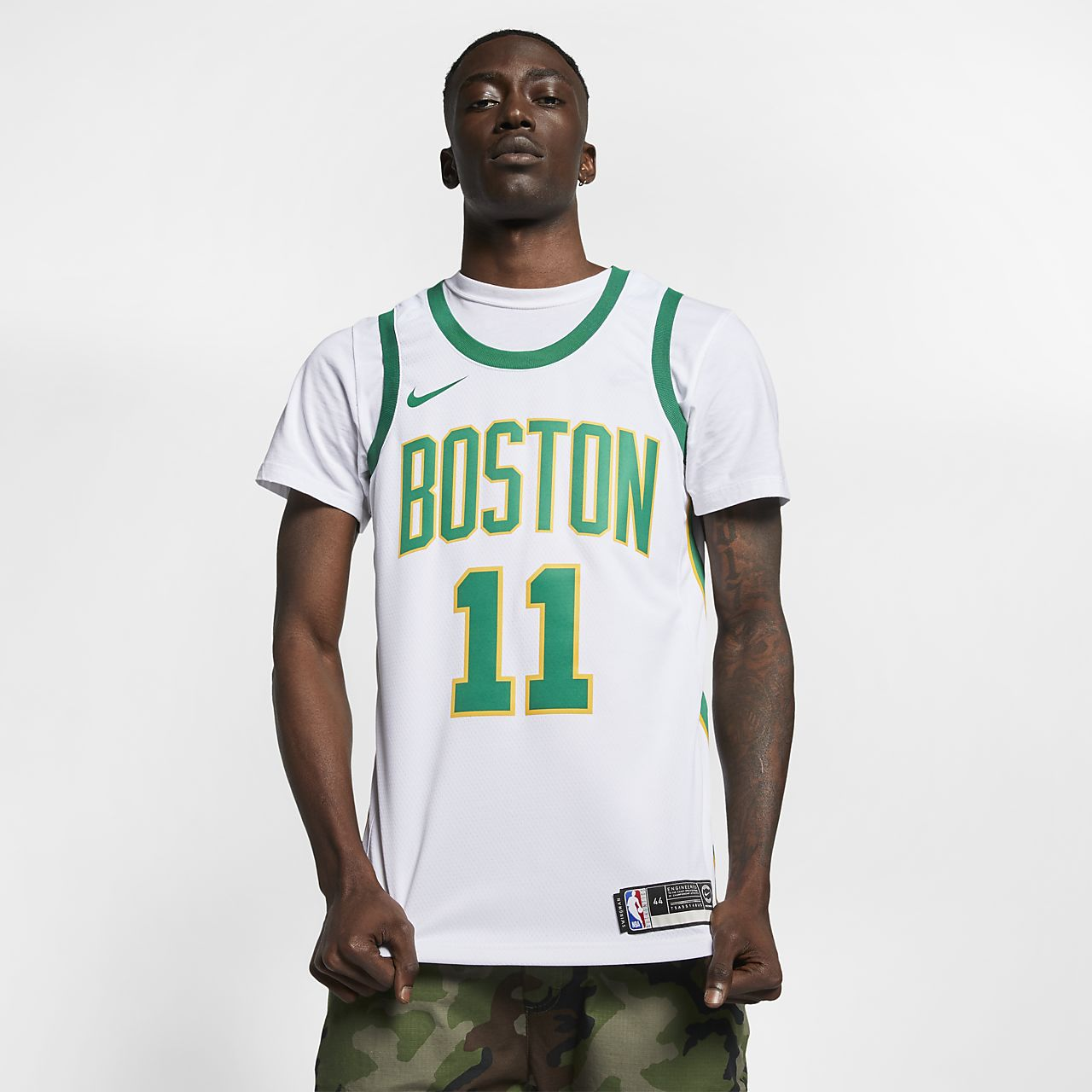 Men s Nike NBA Connected Jersey. Kyrie Irving City Edition Swingman (Boston  Celtics) e90479163