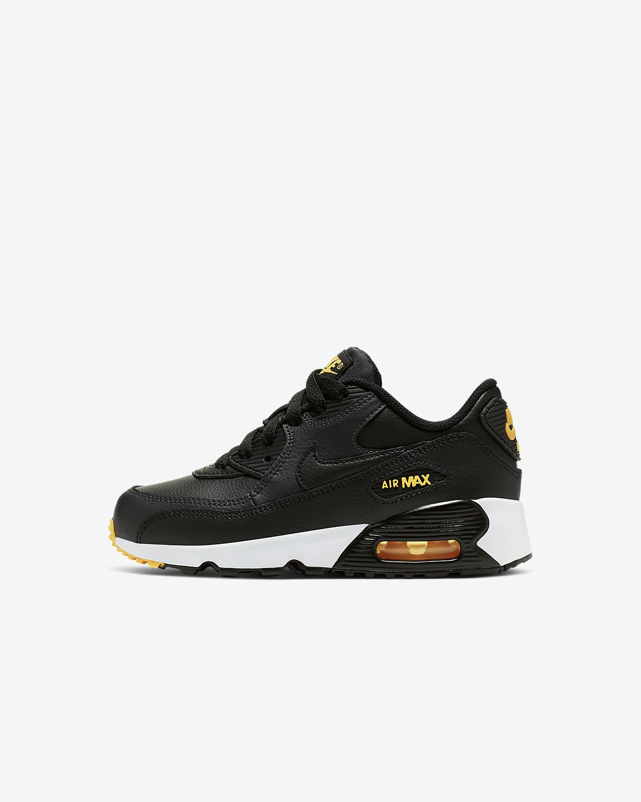 12166ce744 Nike Air Max 90 Leather Little Kids' Shoe. Nike.com