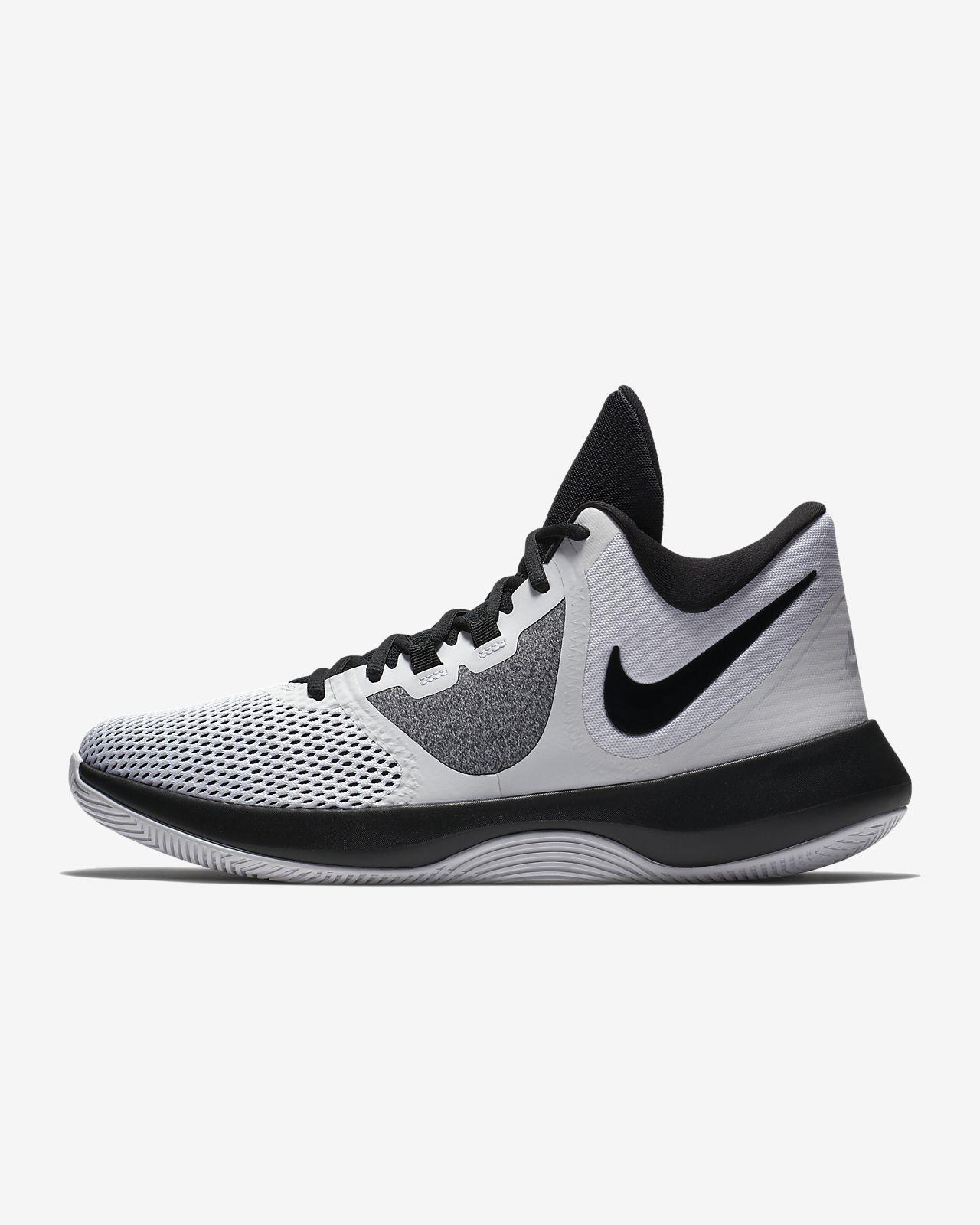 NIKE Air Precision II  AA7069-002  Men/'s Basketball Shoe Black NEW  8.5 /& 10.5 M
