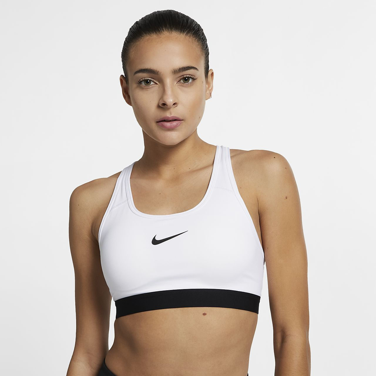 Nike Classic Padded Womens Medium-Support Sports Bra -3249