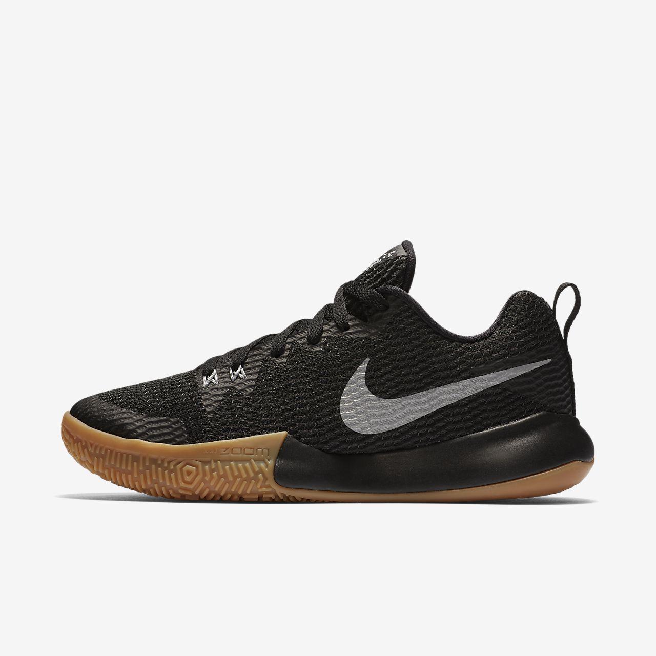 Nike Zoom Live II, Scarpe da Basket Donna, Nero (Black/Reflect Silver-Anthracite 001), 37.5 EU
