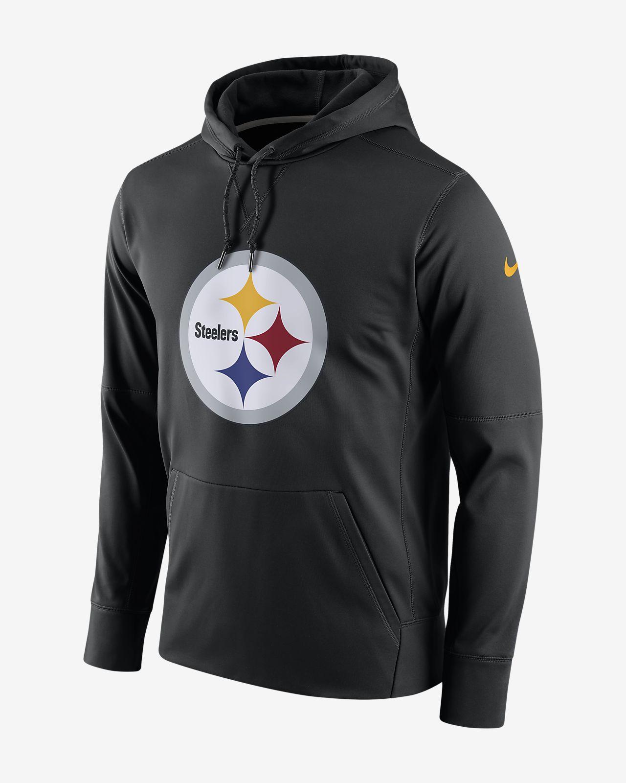 Nike Circuit Logo Essential (NFL Steelers) Men's Pullover Hoodie