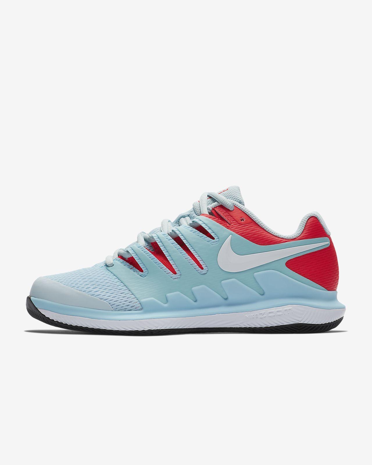 NikeCourt Air Zoom Vapor X-hardcourt-tennissko til kvinder. Nike.com DK 25675068a9
