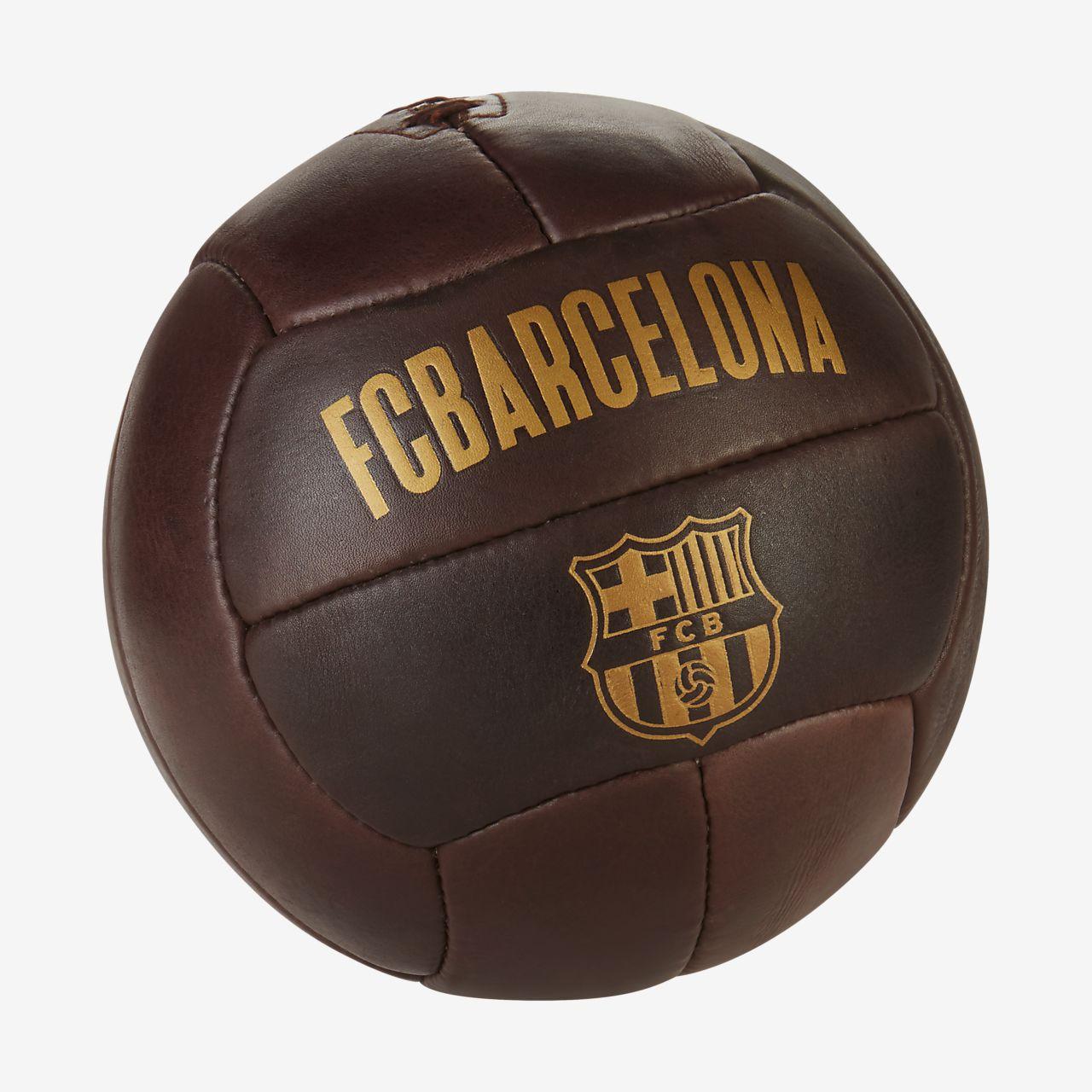 Ballon de football FC Barcelona Historic 1899. Nike.com FR dd9af707a13