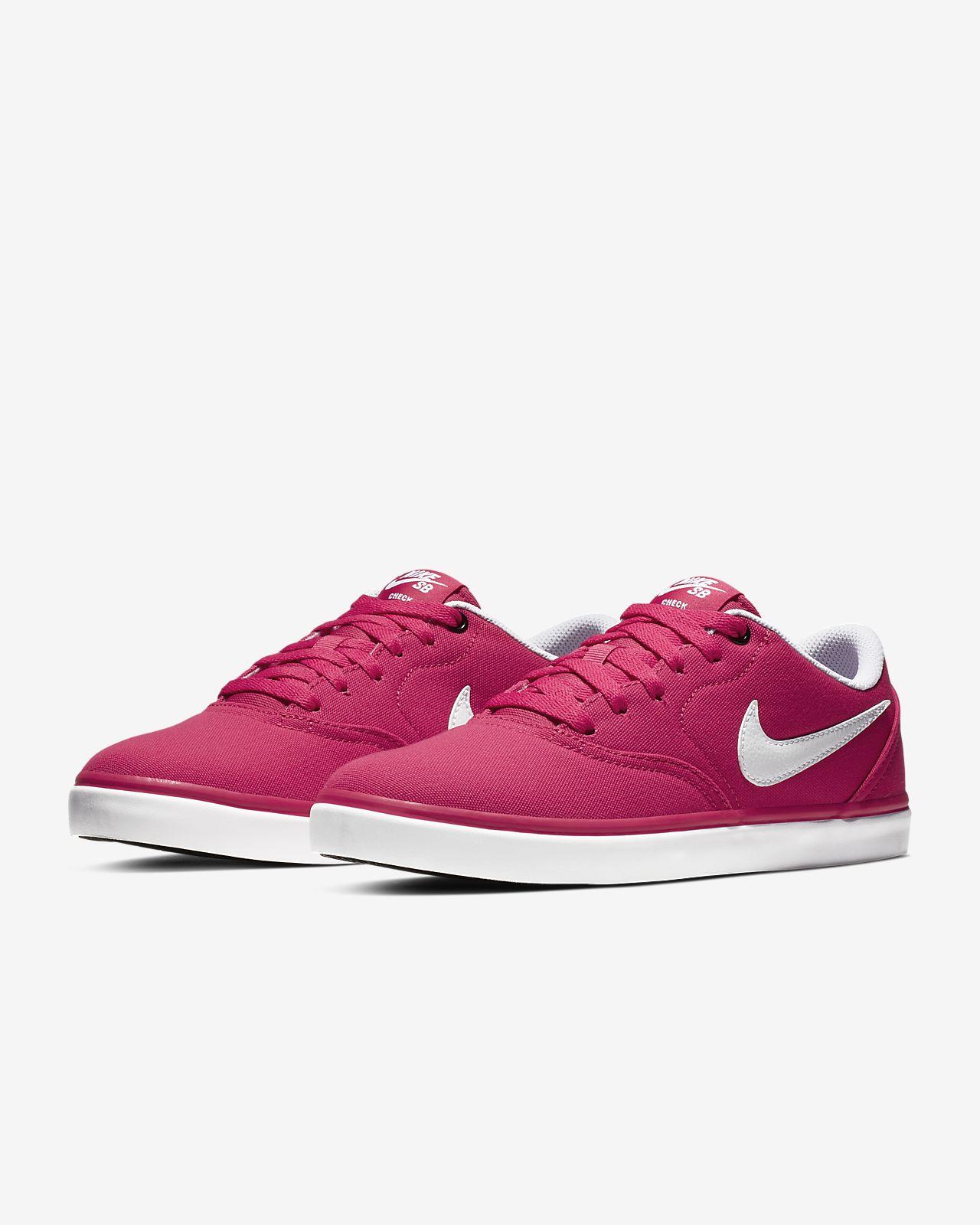 9c2356445852f Calzado de skateboarding para mujer Nike SB Check Solarsoft Canvas ...