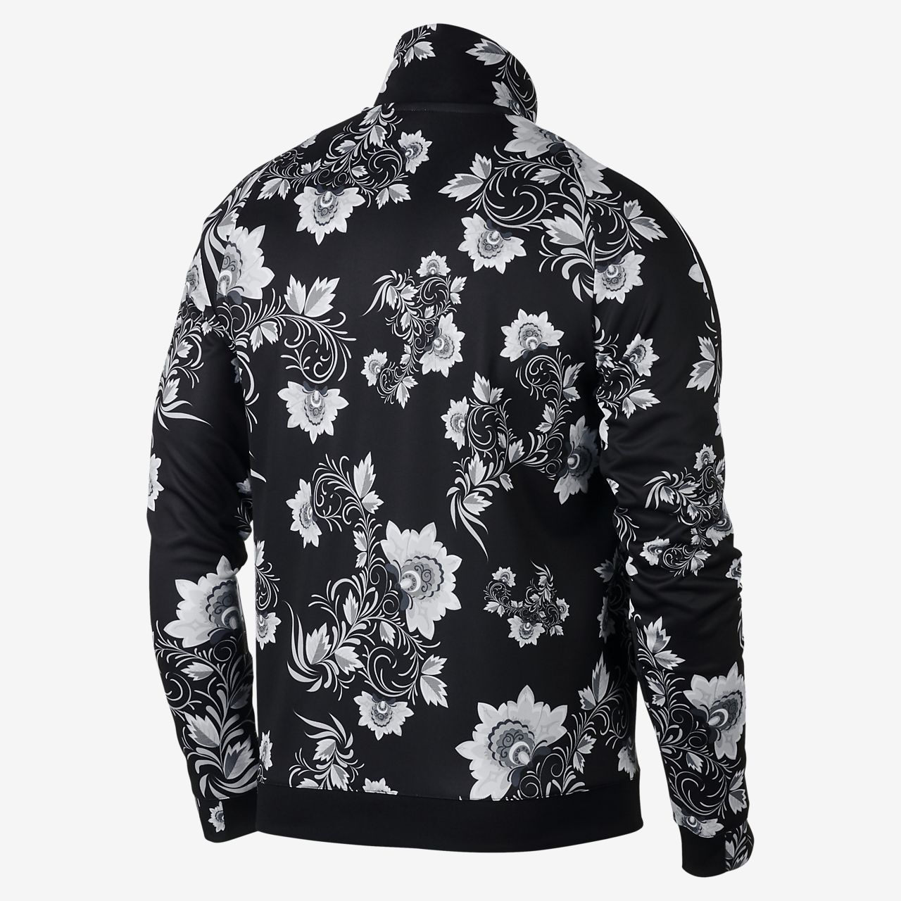 Black and white nike jacket nz