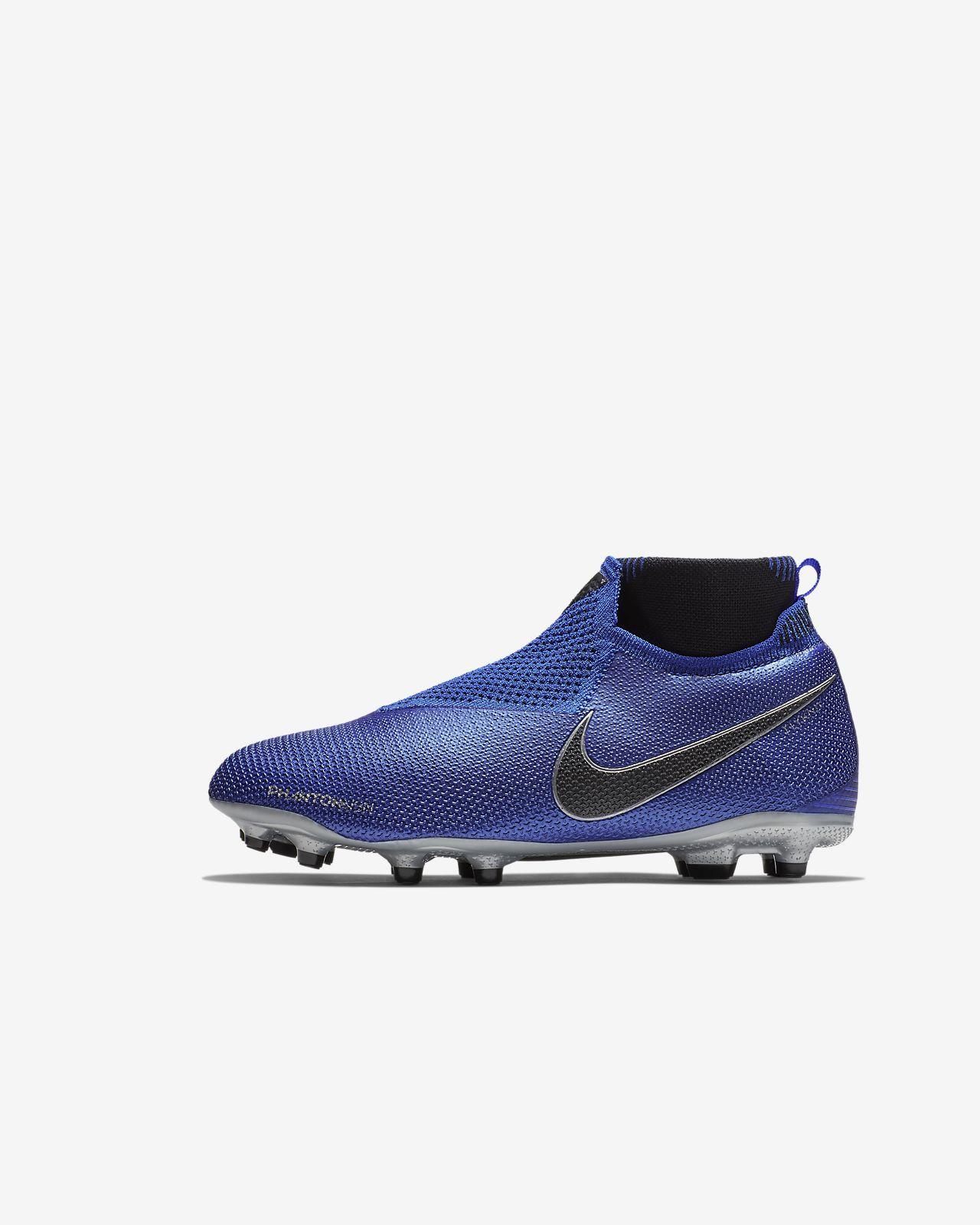 83f52f0b0 Older Kids  Multi-Ground Football Boot. Nike Jr. Phantom Vision Elite  Dynamic Fit Game Over MG