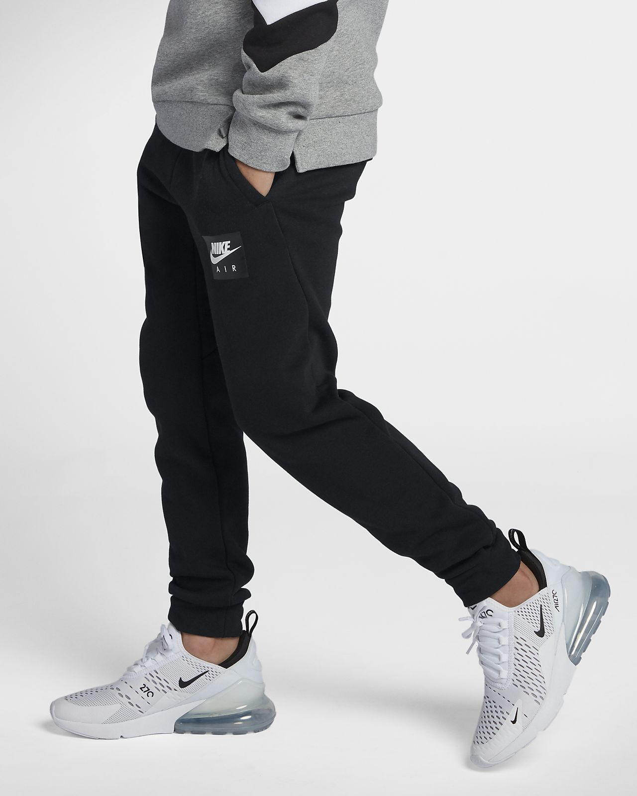 pantaloni nike french terry