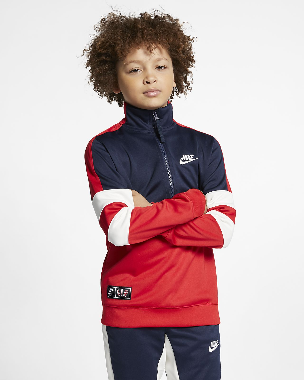 c843db9880bbb3 Nike Air Older Kids  Tracksuit. Nike.com LU