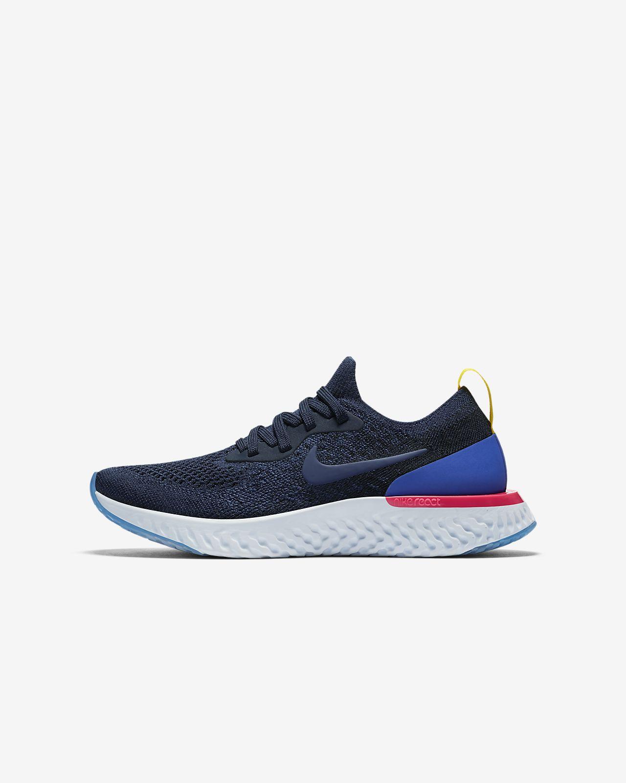 ... Chaussure de running Nike Epic React Flyknit pour Enfant plus âgé