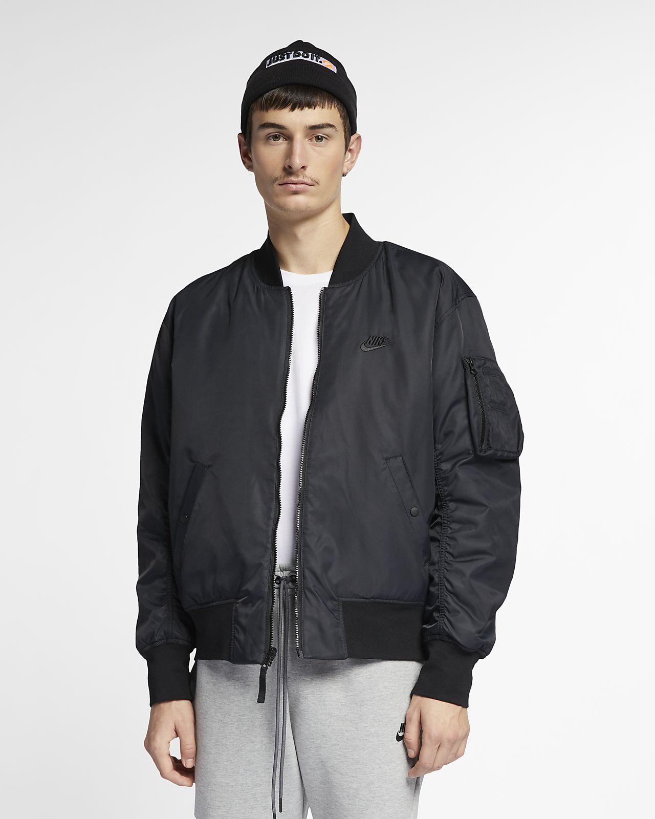 471a0fdee2fb Nike Sportswear Men s Reversible Bomber Jacket. Nike.com