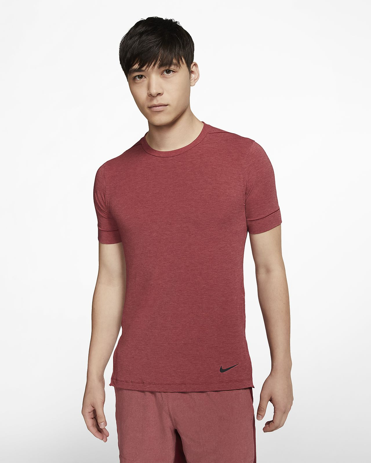 Nike Dri-FIT Camiseta de entrenamiento de yoga de manga corta - Hombre