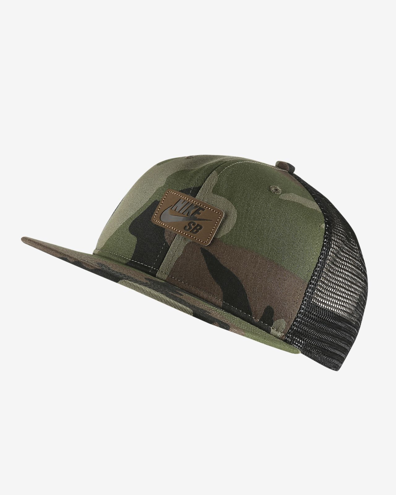 หมวกทรัคเกอร์สเก็ตบอร์ด Nike SB