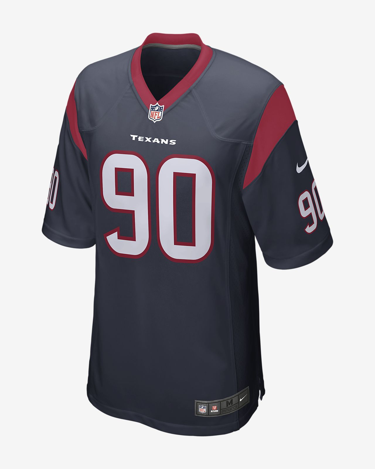 size 40 153aa 05b84 NFL Houston Texans (Jadeveon Clowney) Men's Game Football Jersey