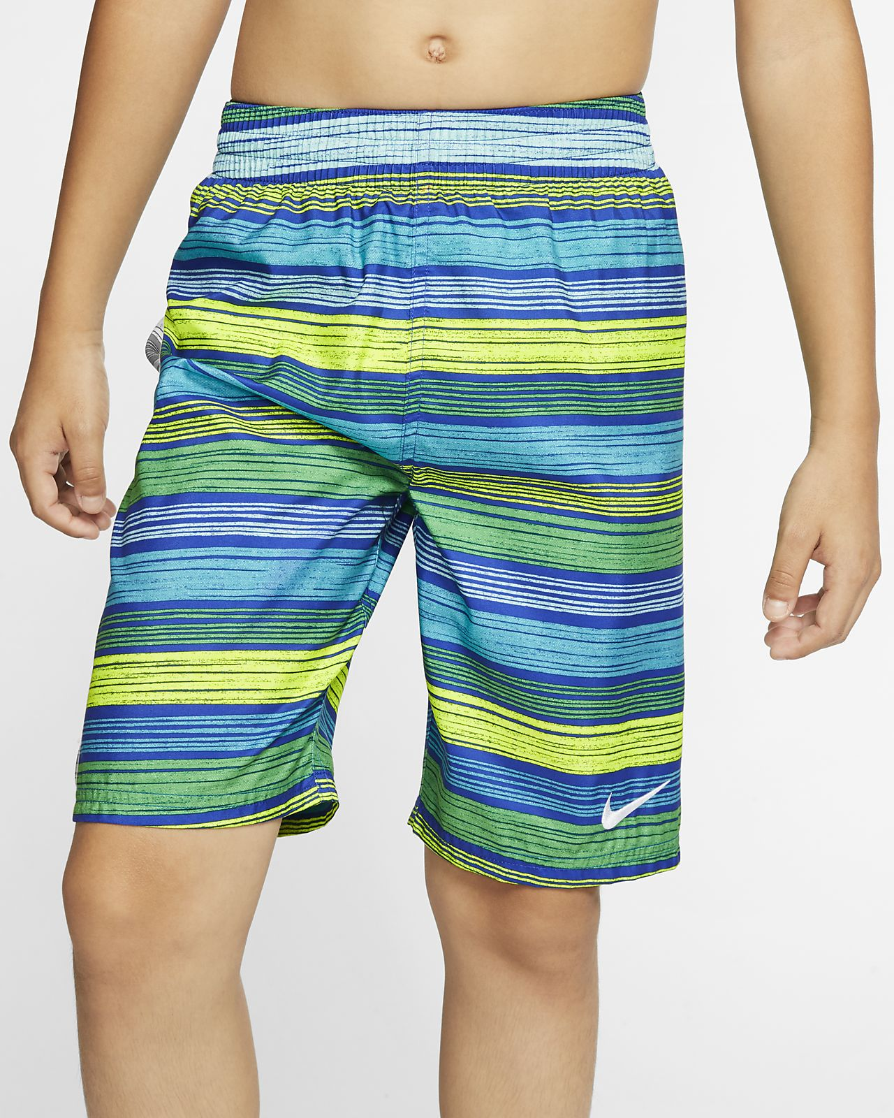 "Nike 6:1 Stripe Breaker Boy's 8"" Swim Trunks"