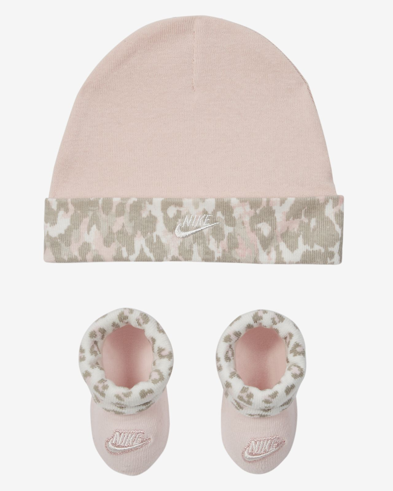 Nike Toddler Hat and Booties Set
