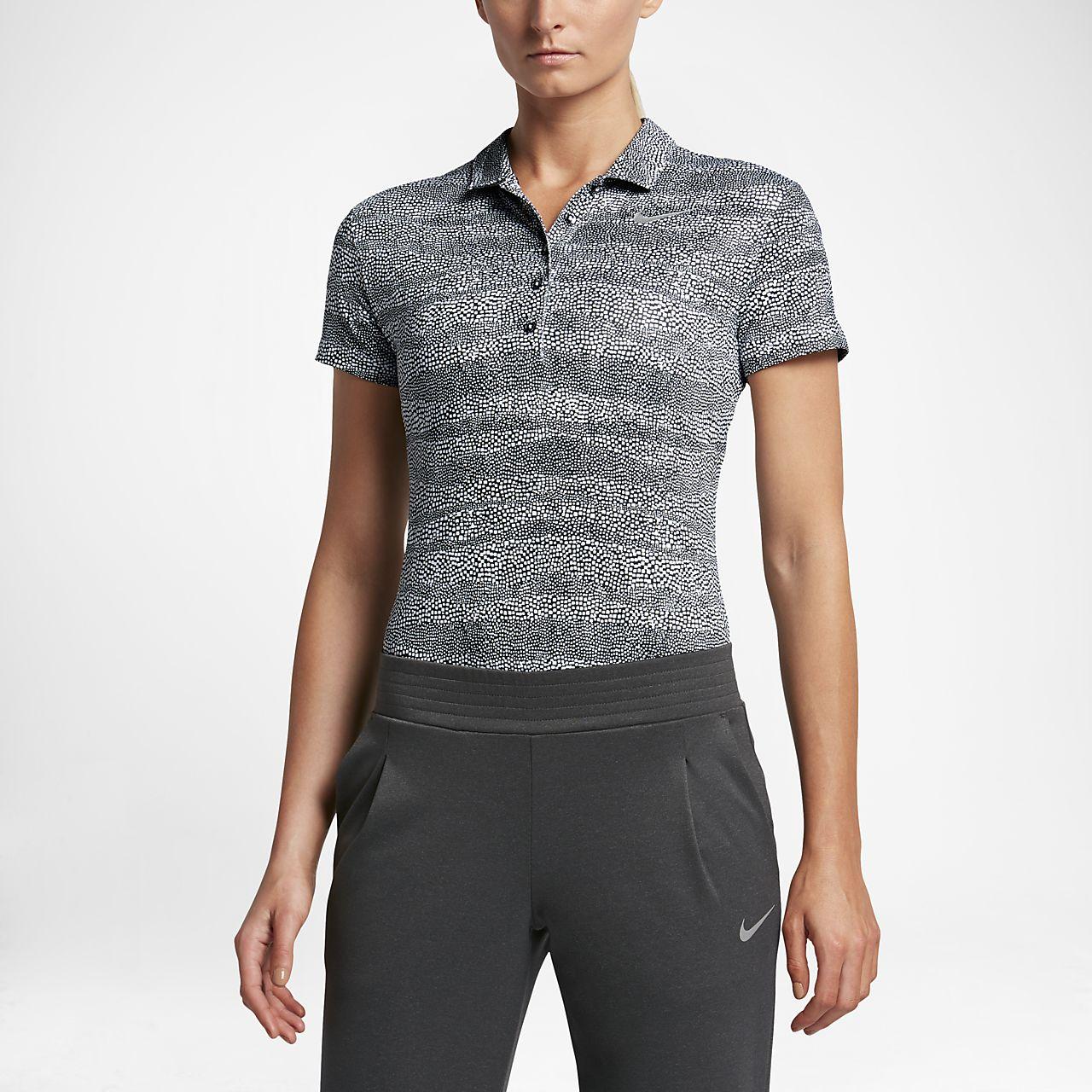 เสื้อโปโลกอล์ฟผู้หญิง Nike Precision