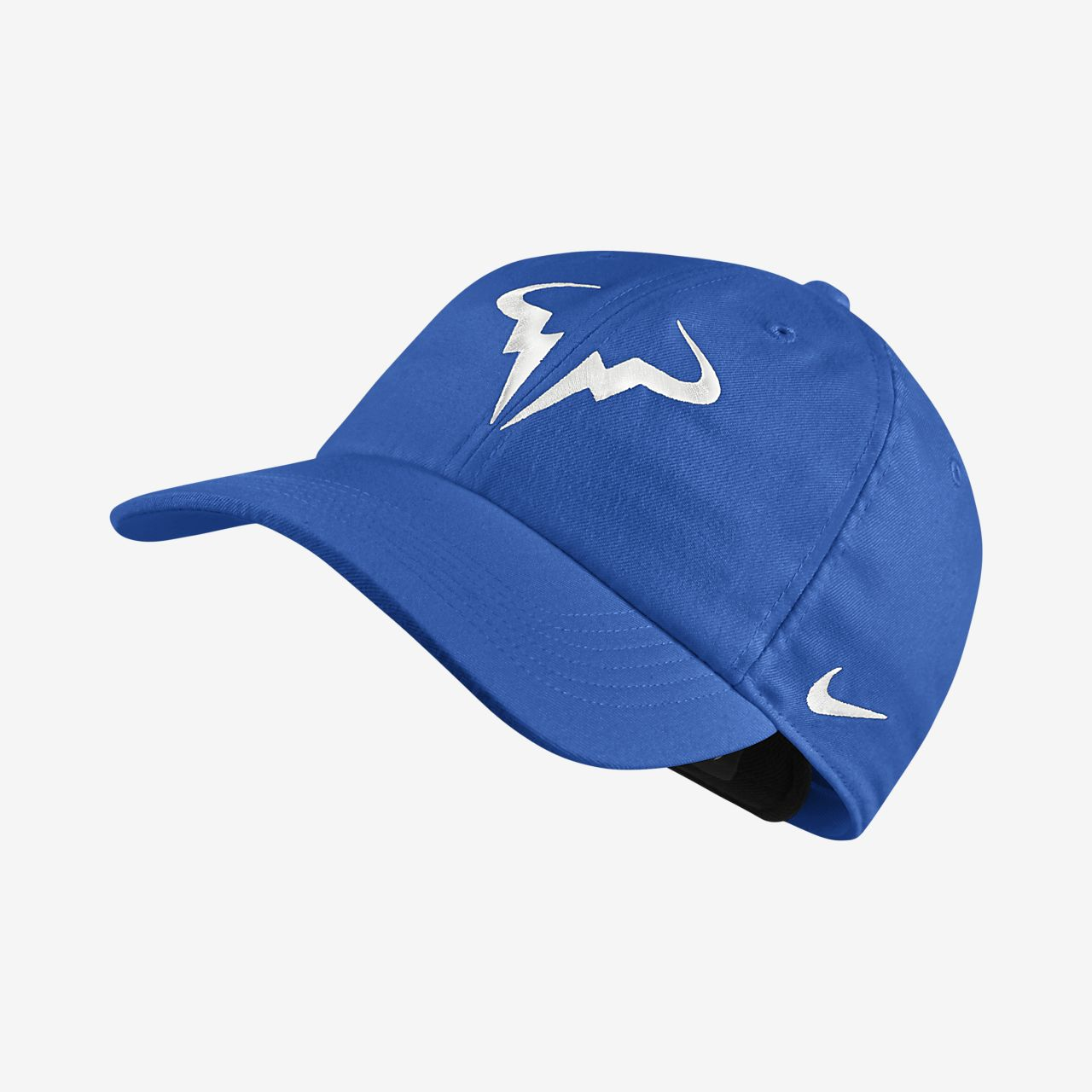 NikeCourt AeroBill Rafa H86 Adjustable Tennis Hat. Nike.com 457cde606a1
