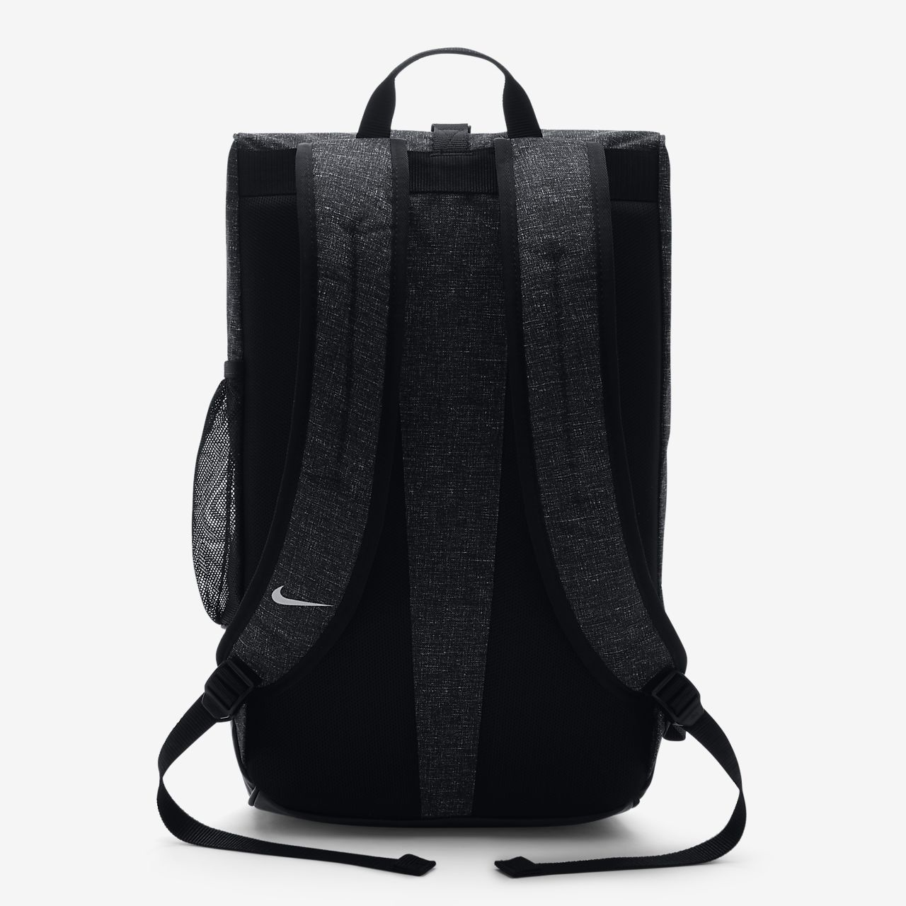 nike rolling backpack grey