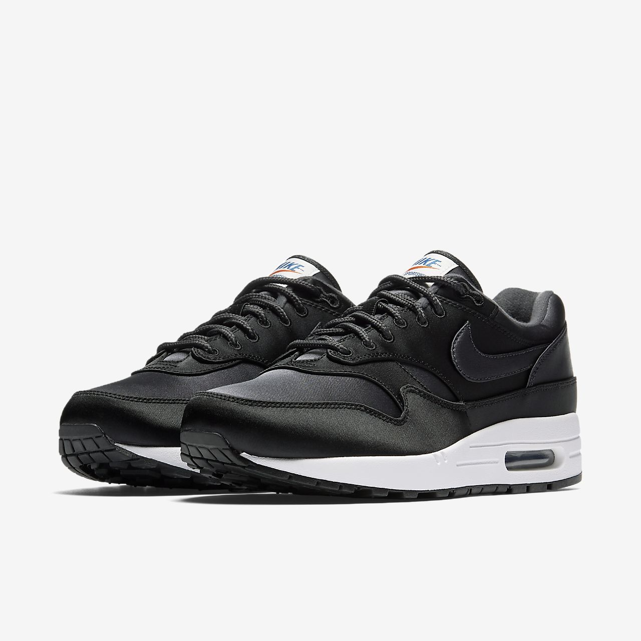 nike air max 1 black and white mens nz