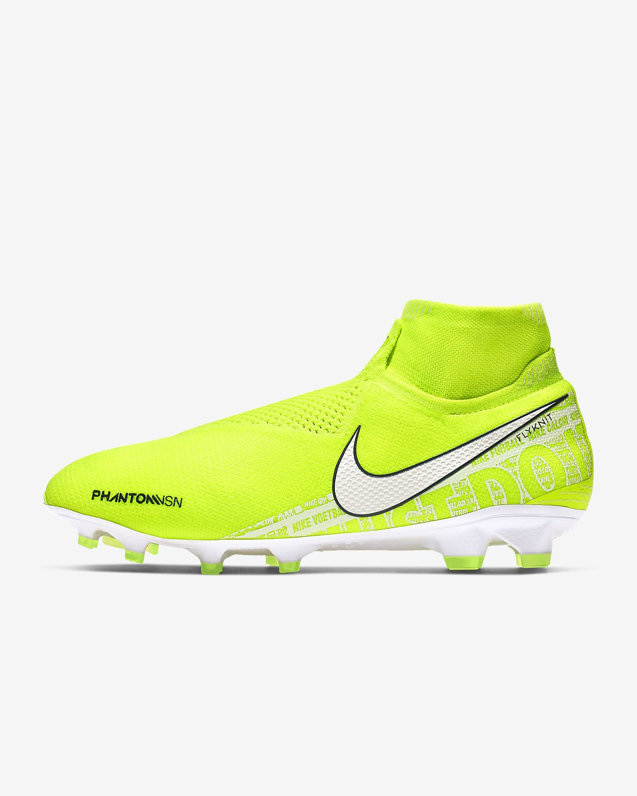 Scarpa da calcio per terreni duri Nike Phantom Vision Elite Dynamic Fit FG