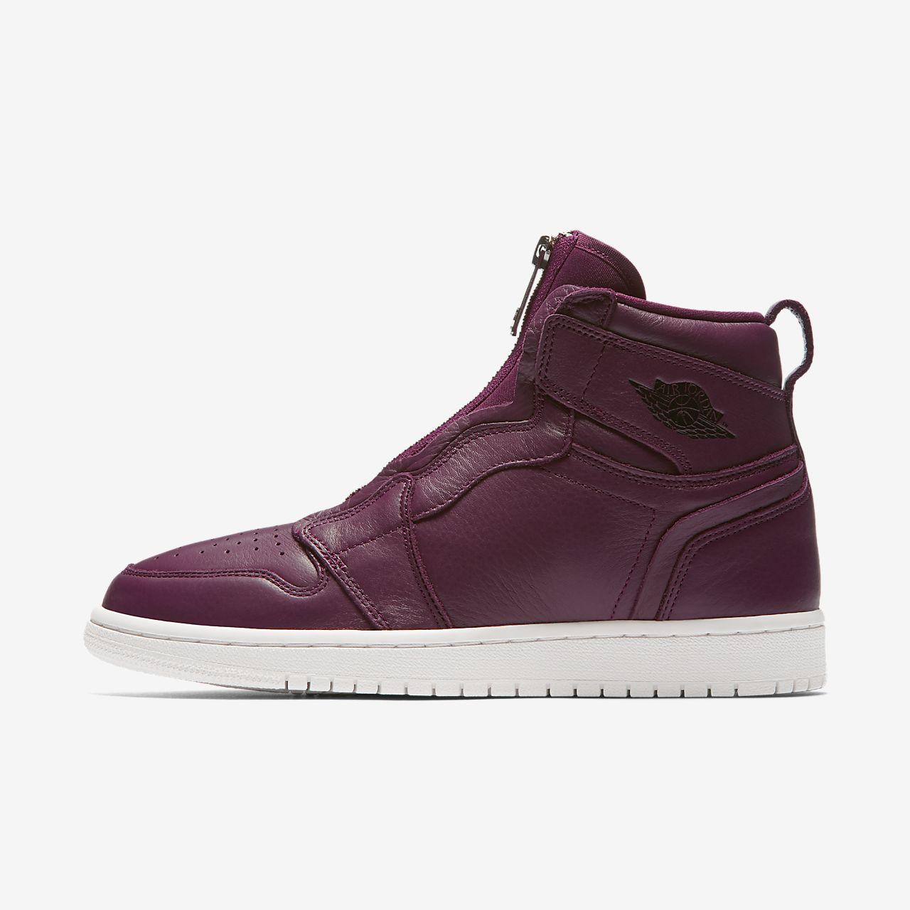 Sapatilhas Air Jordan 1 High Zip Premium para mulher
