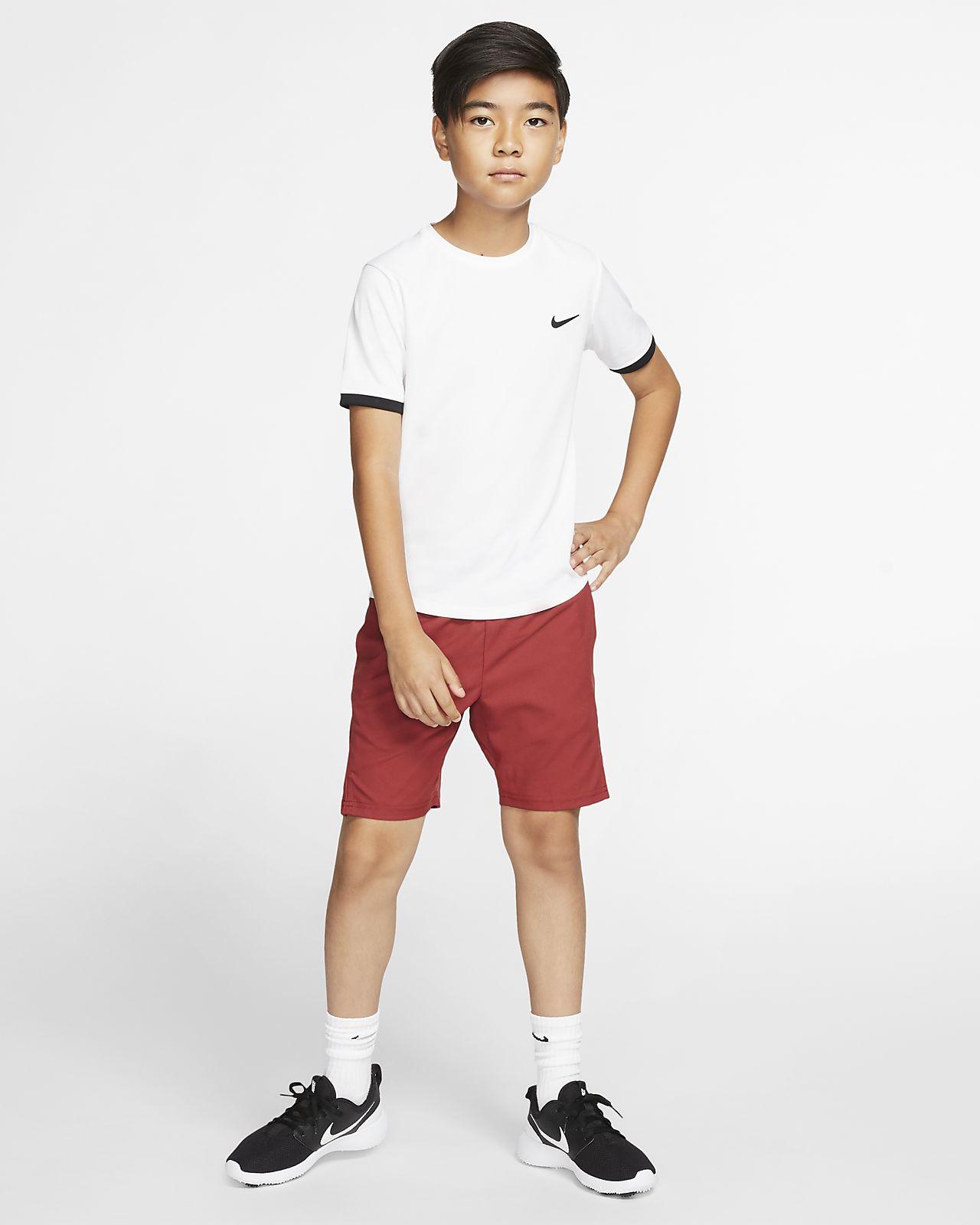 NikeCourt oppvarmingsjakke for tennis til gutt