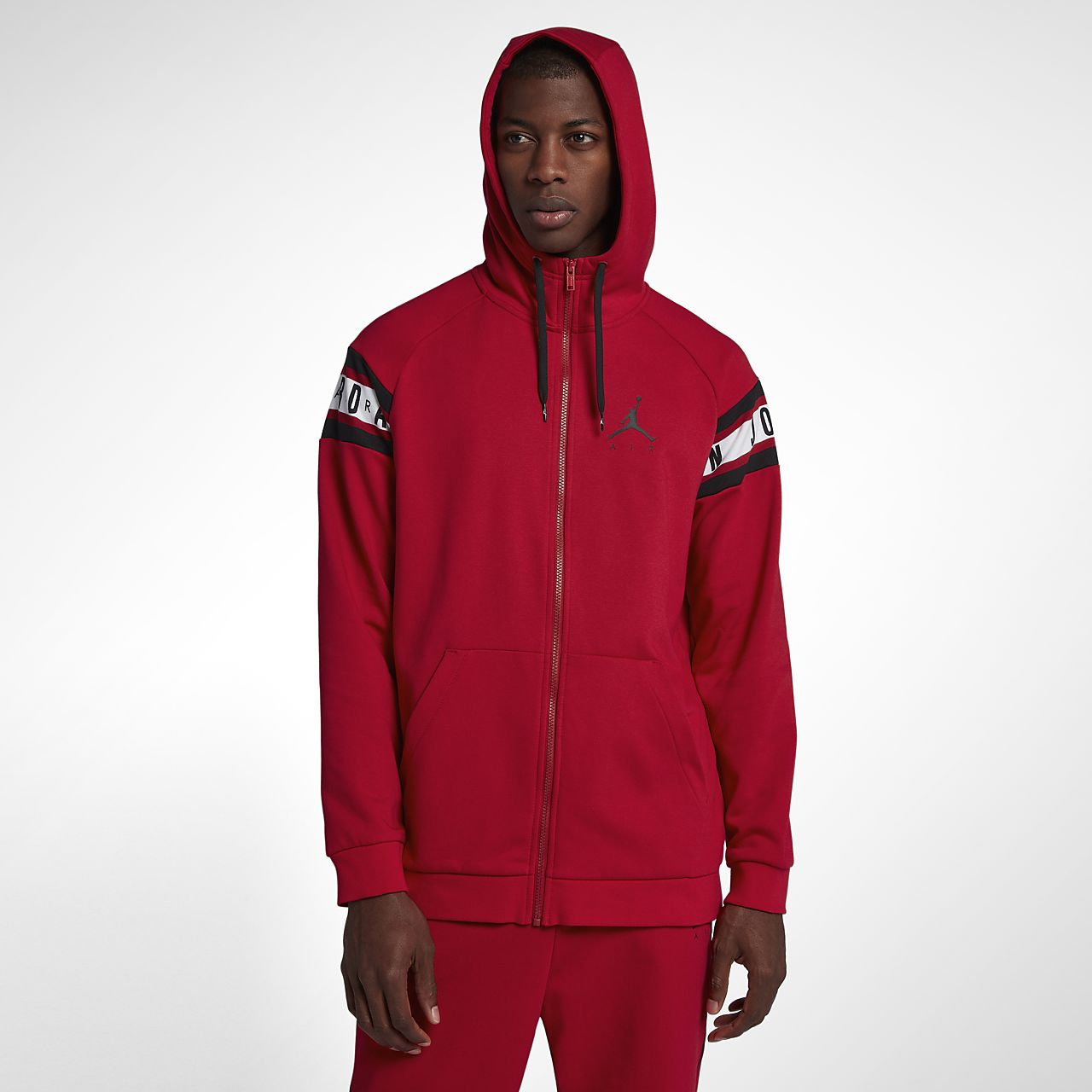 Jordan Jumpman Air Men s Full-Zip Basketball Hoodie. Nike.com 3635071bd
