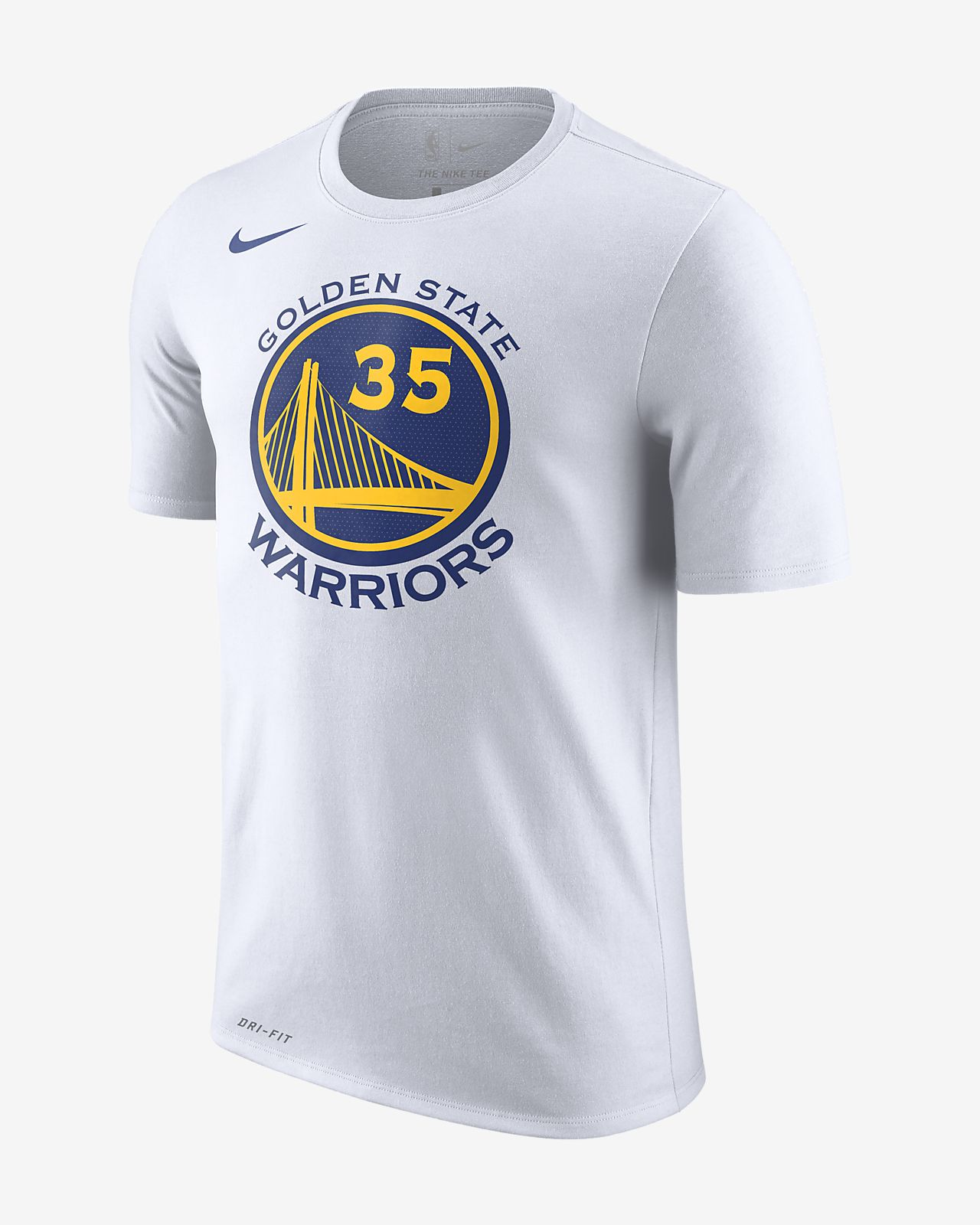 Kevin Durant Golden State Warriors Nike Dri-FIT Men s NBA T-Shirt ... 1c5e1c724