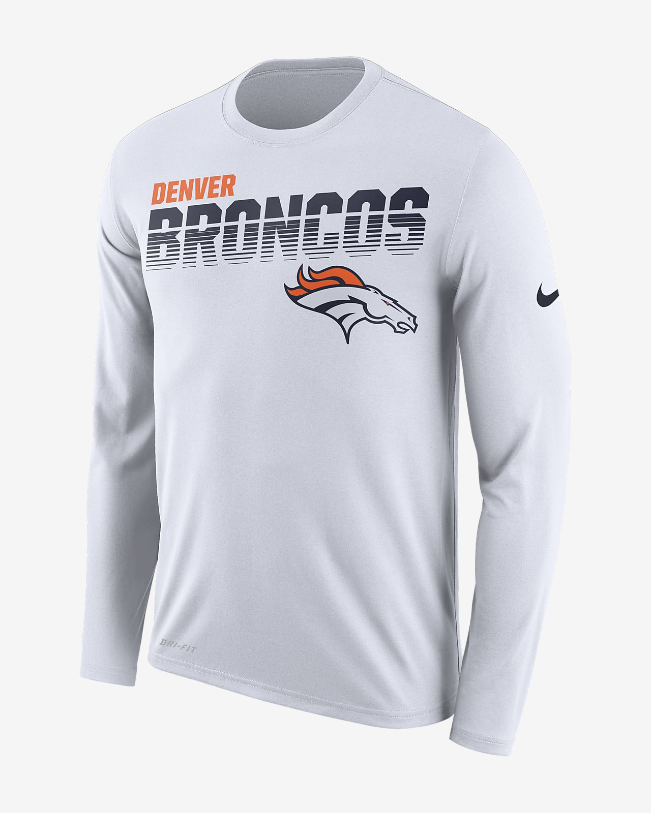 Nike Legend (NFL Broncos) Men's Long-Sleeve T-Shirt