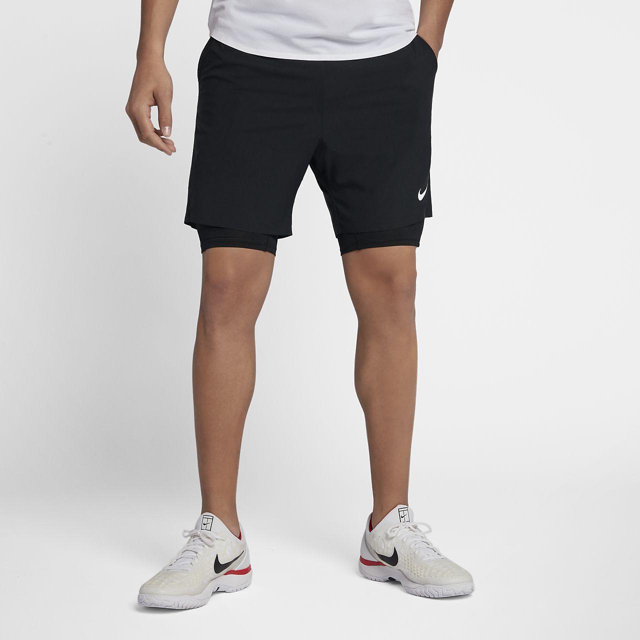 41c00a305f Short 18 Tennis Be Cm Homme Ace De Flex Nikecourt Pour r77xq4wH