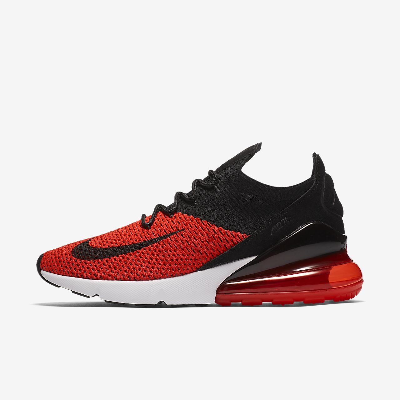 free shipping 2be7c 23be8 ... Nike Air Max 270 Flyknit Mens Shoe