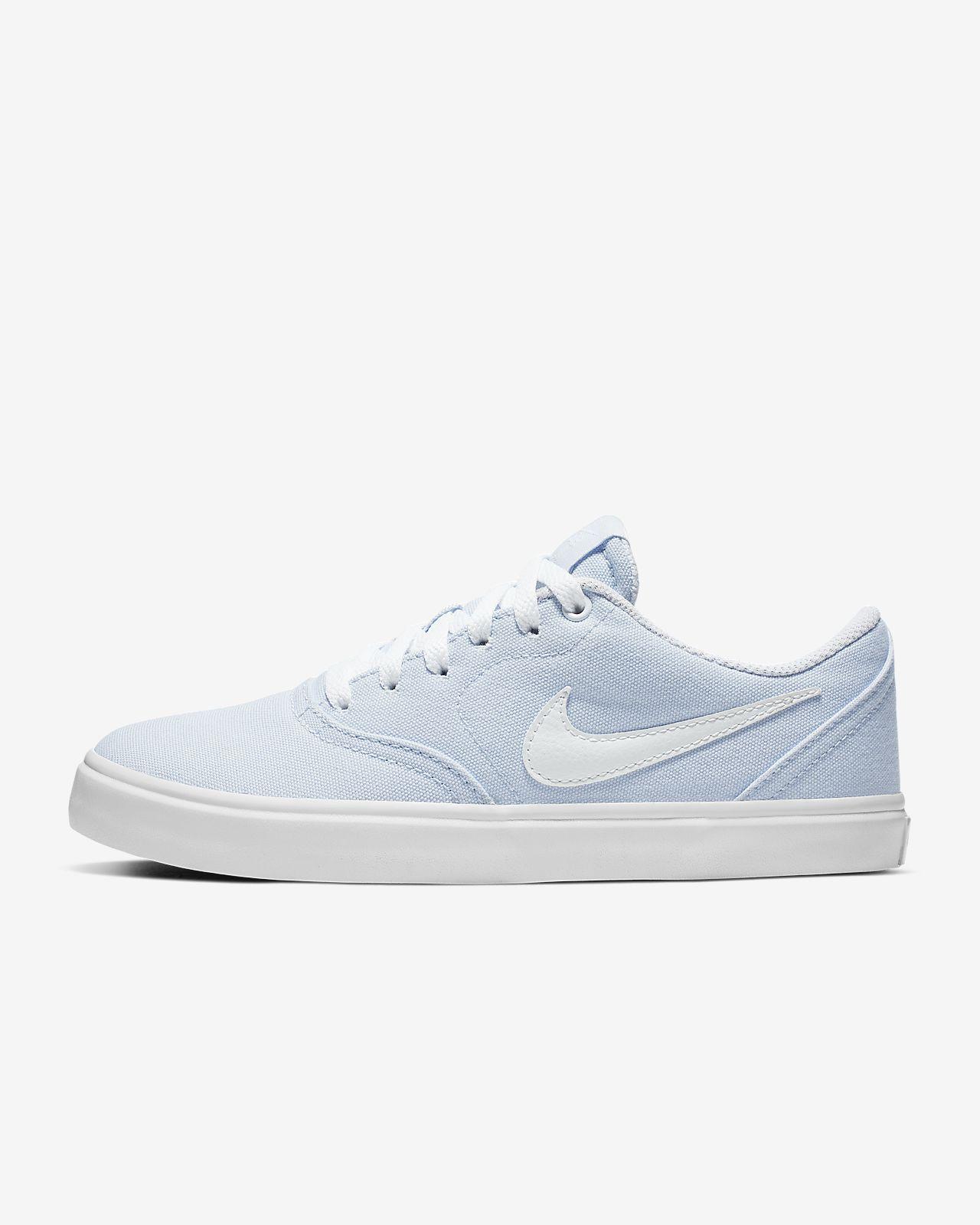 Calzado de skateboarding para mujer Nike SB Check Solarsoft Canvas