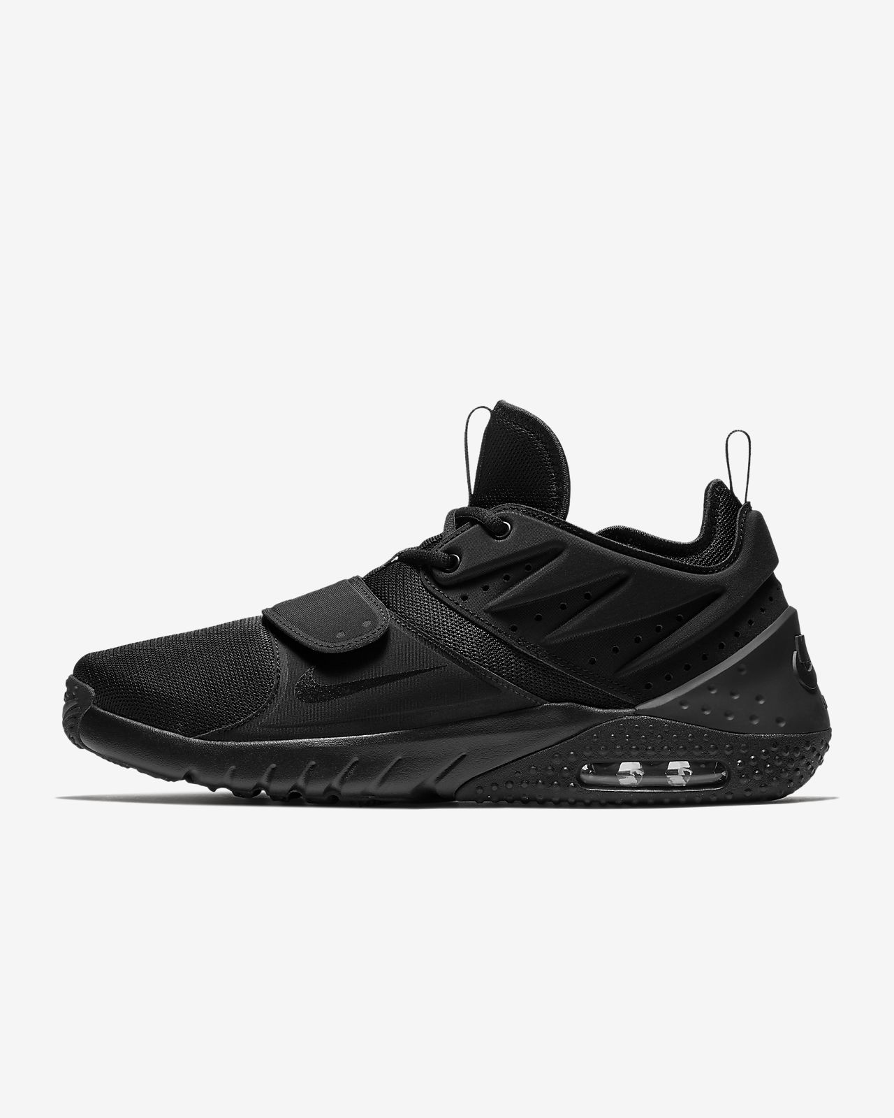 Nike Performance AIR MAX TRAINER 1 - Sports shoes - black/white/red blaze