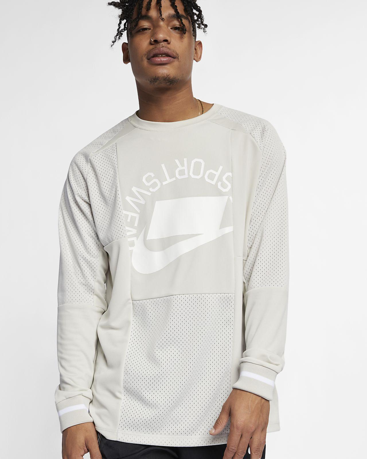 Top Nike Sportswear NSW s dlouhým rukávem