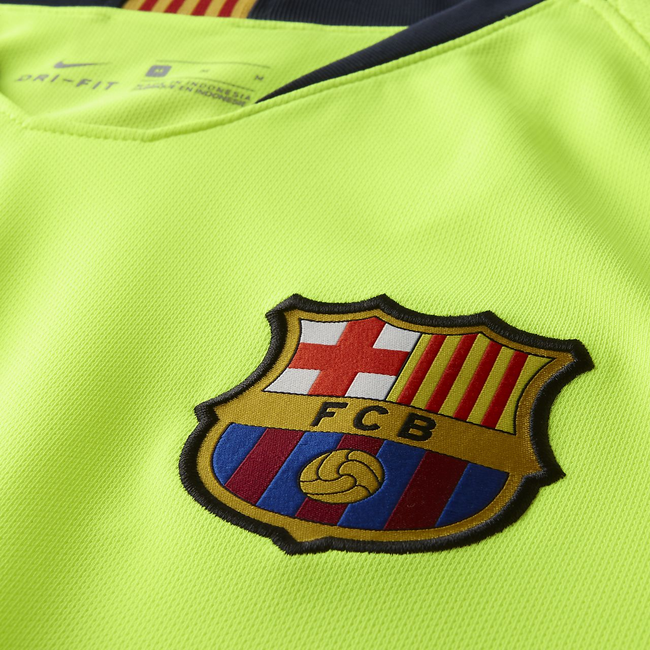 2b8c0d5a2 ... Camisola de futebol de manga comprida 2018 19 FC Barcelona Stadium Away  para homem