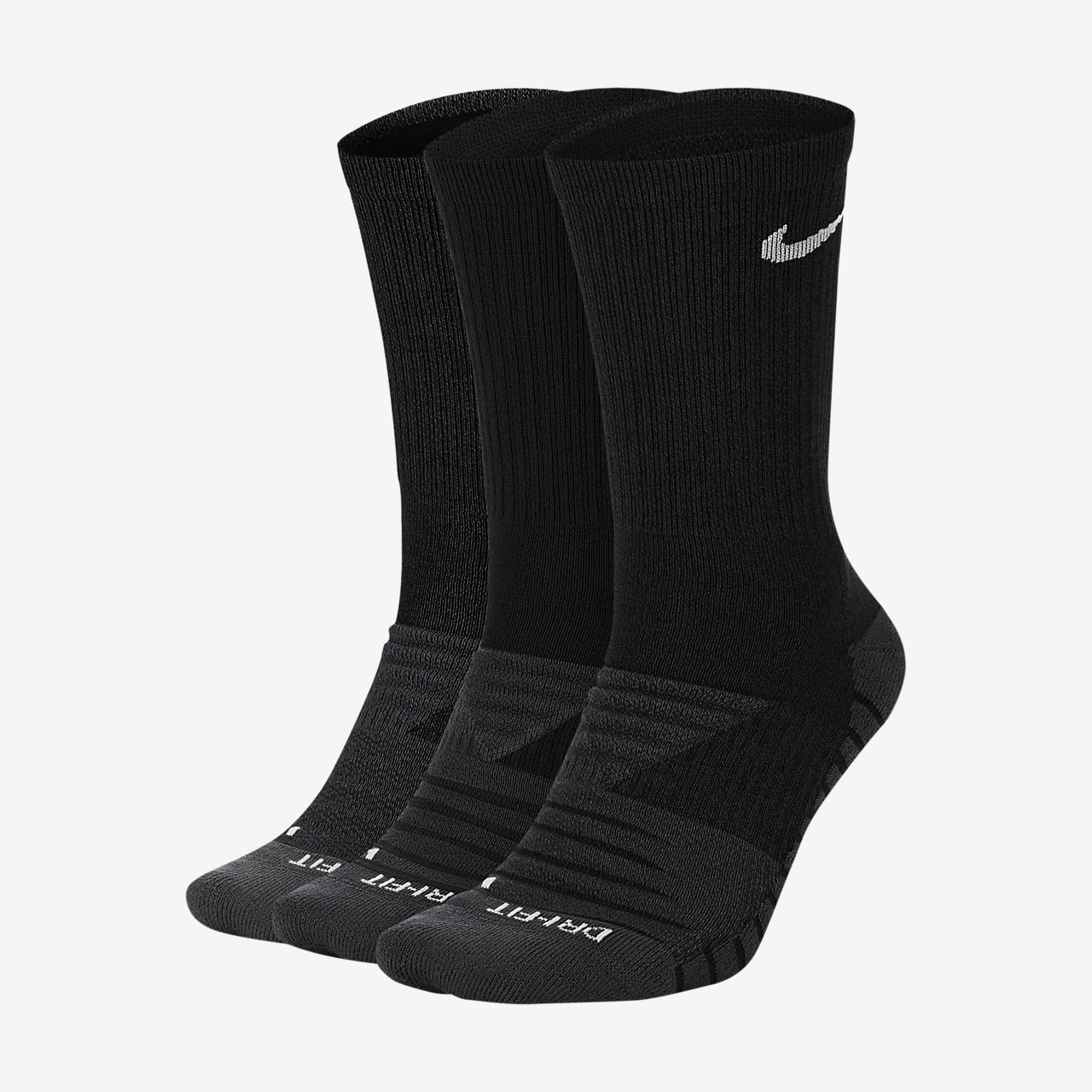 Nike Everyday Max Cushioned Training Crew Socks (3 Pairs)