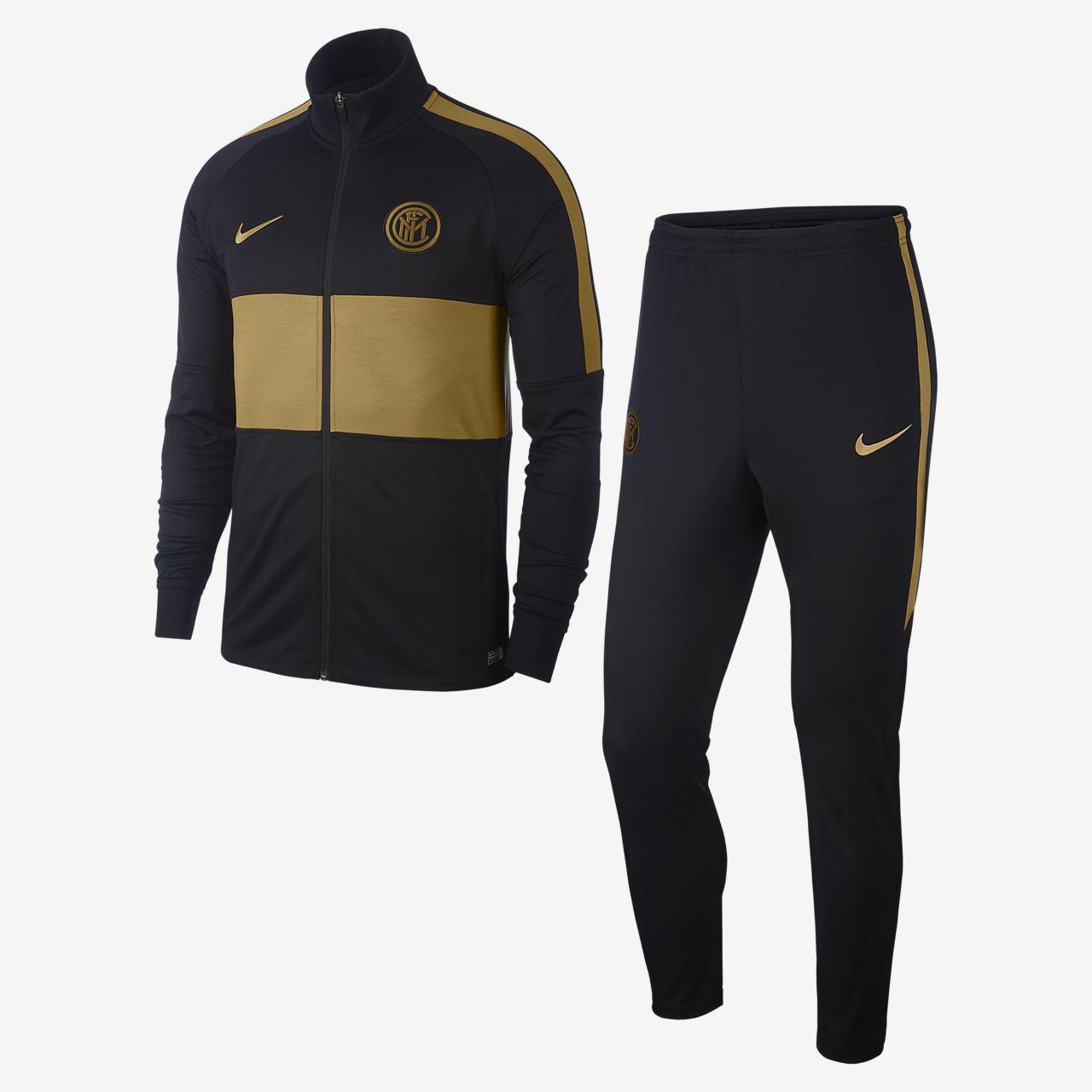 Pánská fotbalová tepláková souprava Nike Dri-FIT Inter Milan Strike