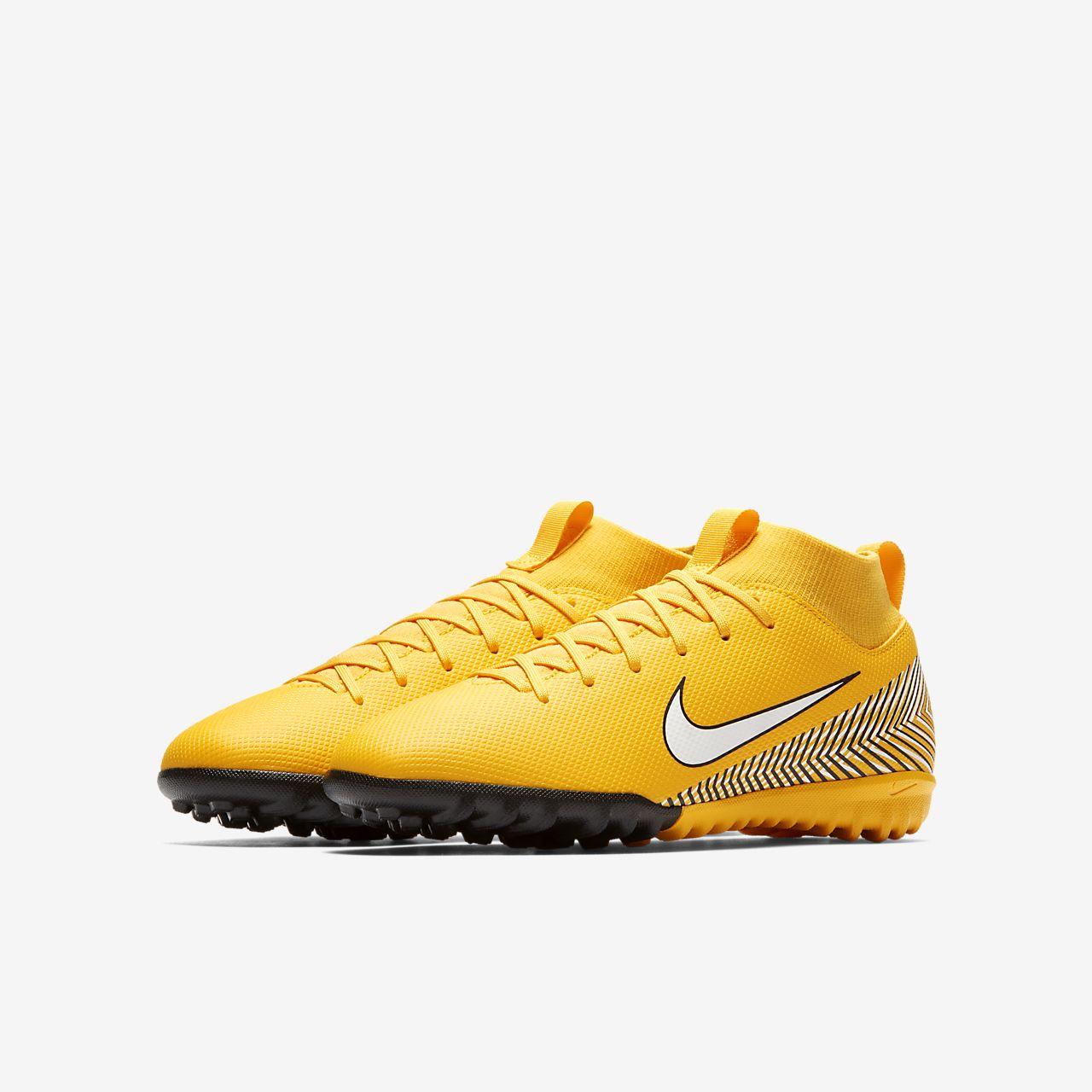 ... Nike Jr. Mercurial Superfly VI Academy Neymar Jr. Younger Older Kids   Turf b72a05cbc2e5e