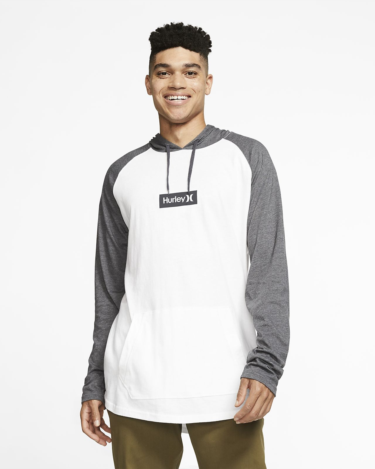Hurley Premium One and Only Box  Men's Pullover Hoodie