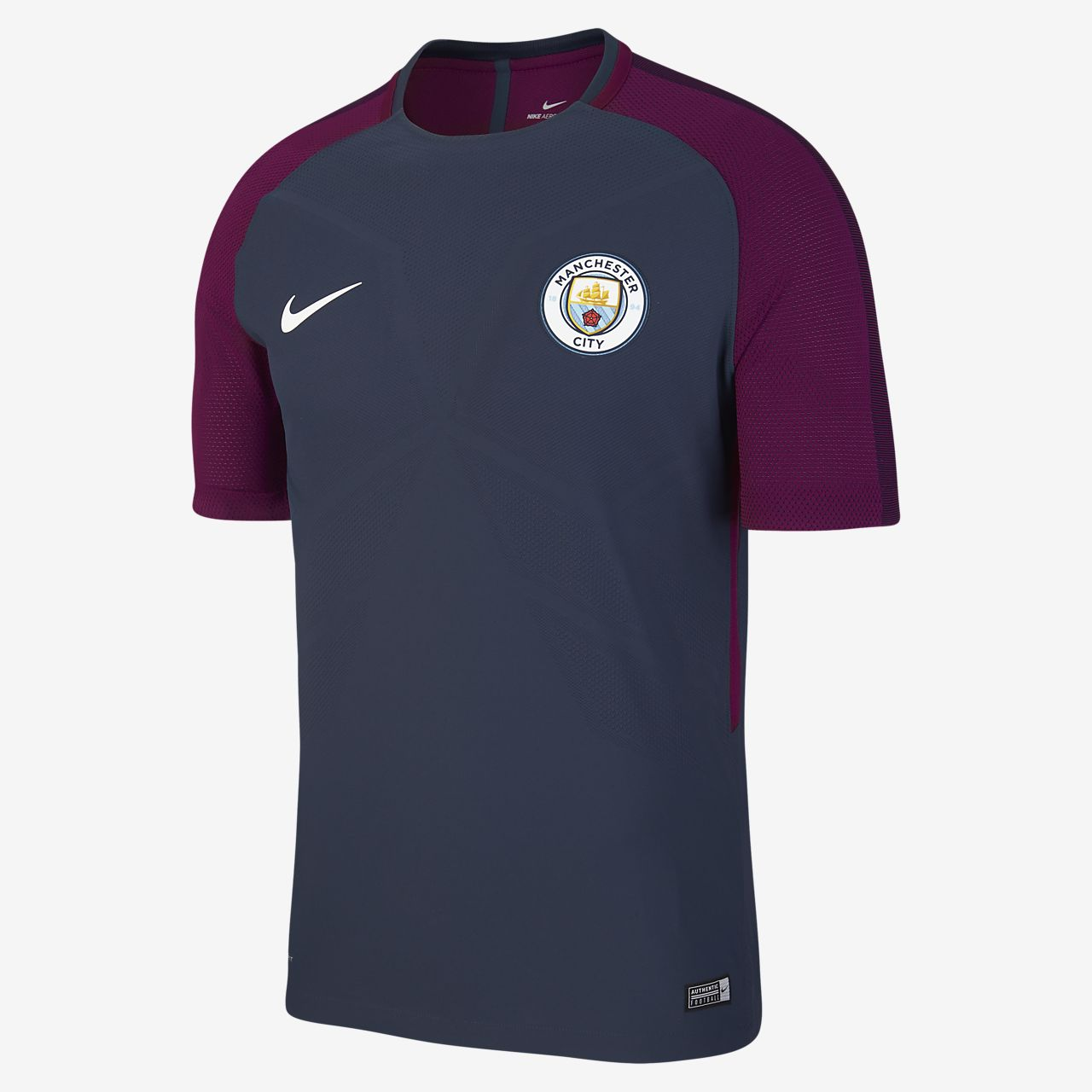 Polos Manchester City F.C. Nike Manchester bleus homme ABnjYD