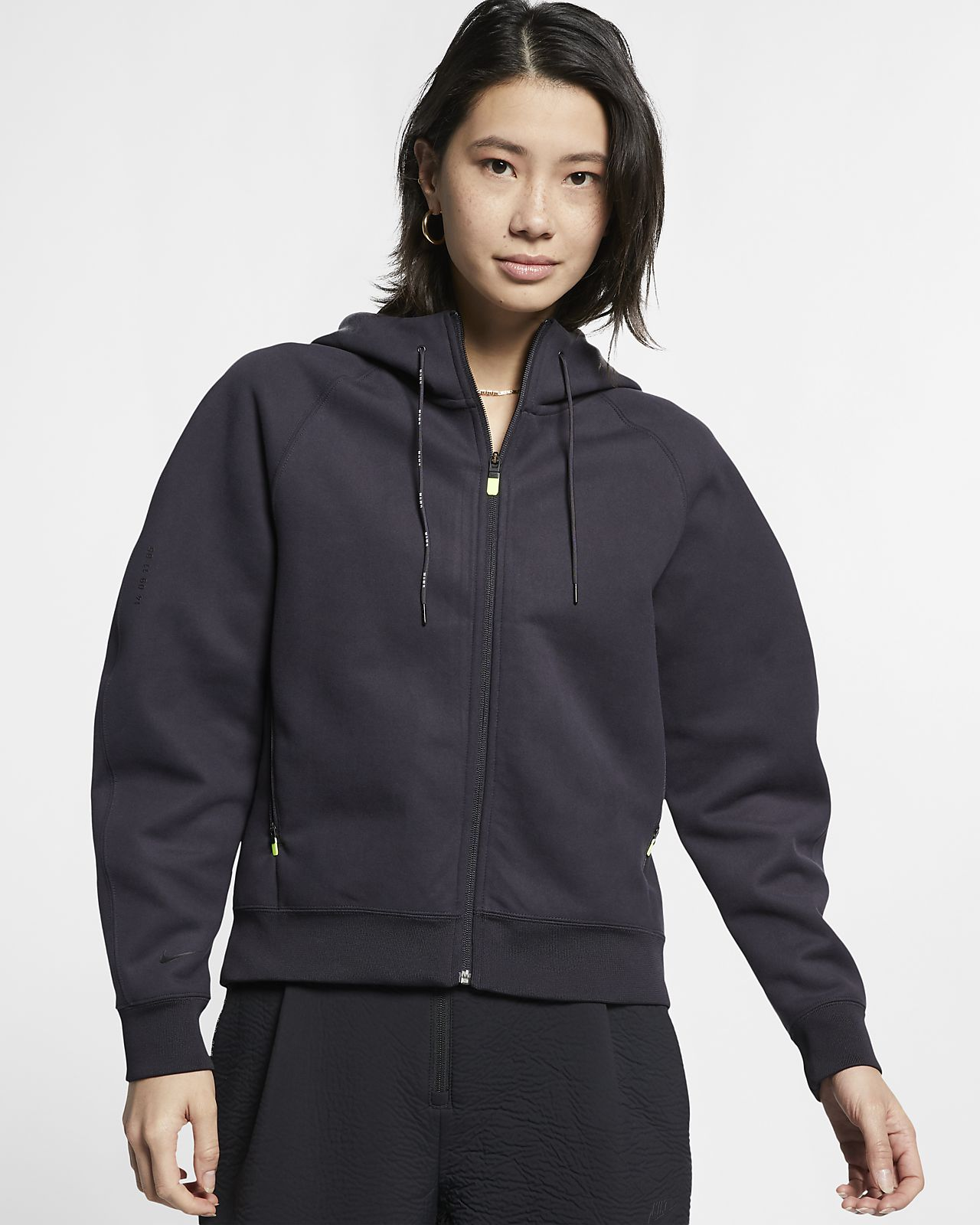 Nike Sportswear Tech Pack Women's Full Zip Fleece Hoodie